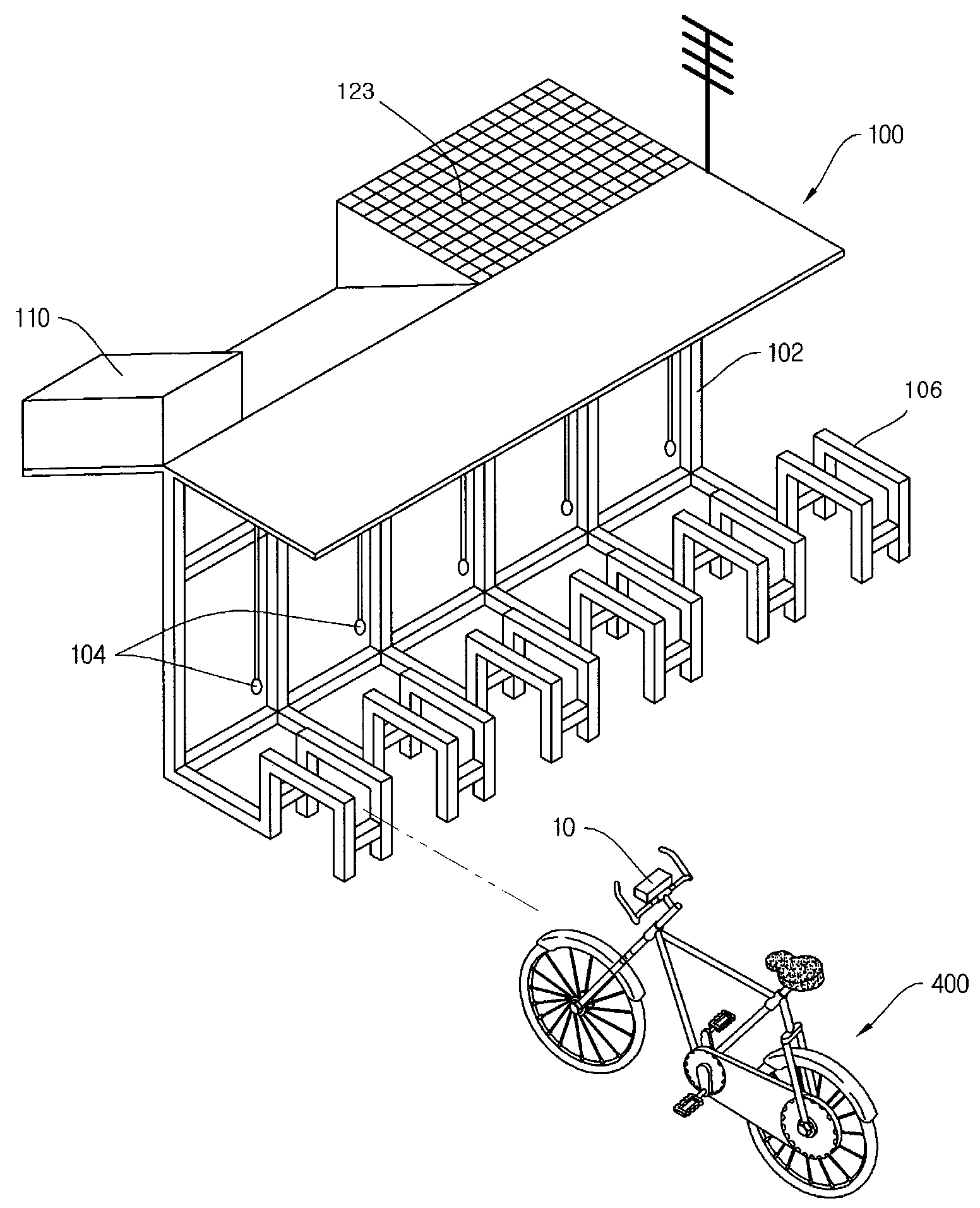 Patent Wo2011031078a2 Terminal For Bicycle Bicycle