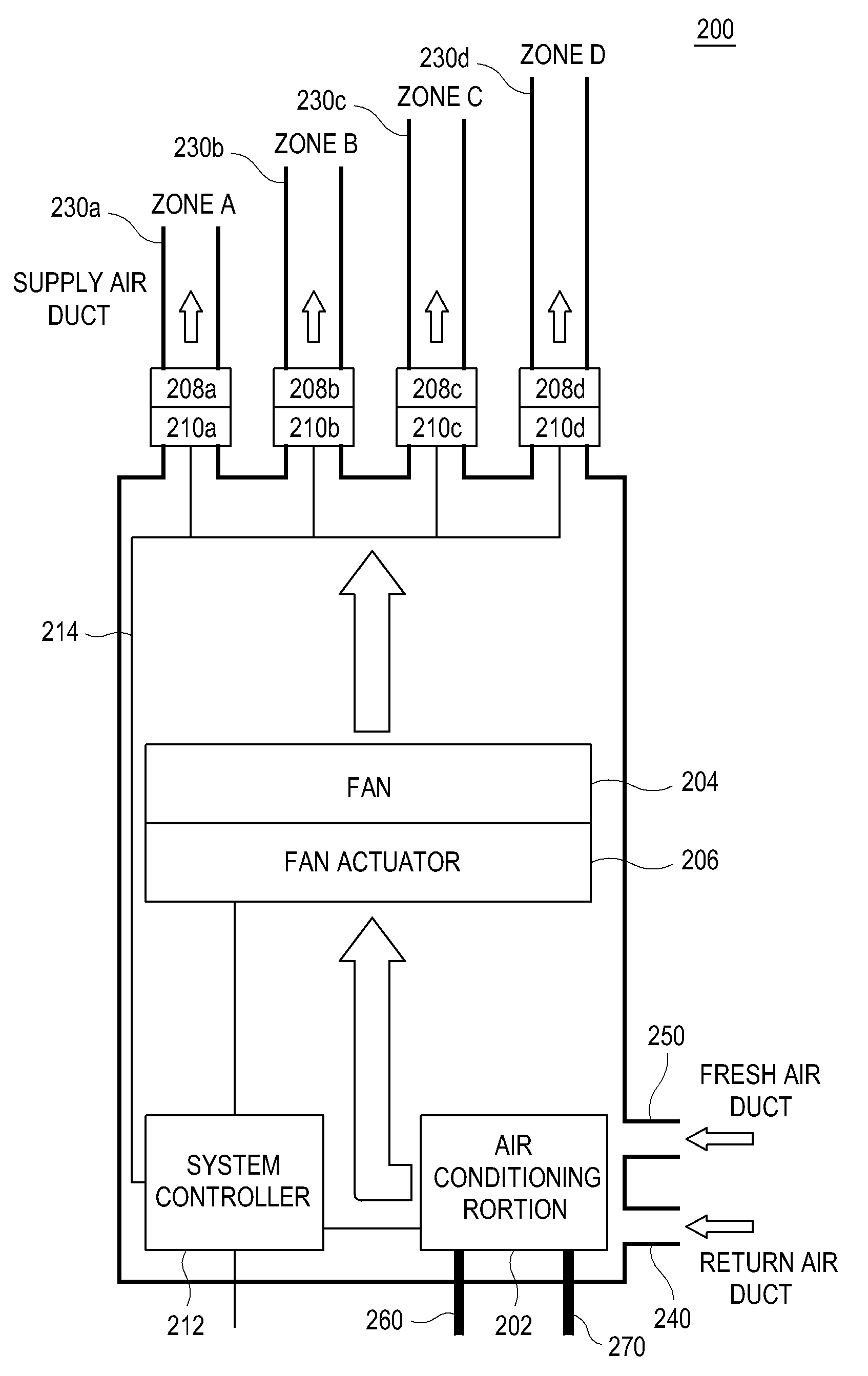 patent woa variable air volume system patents patent drawing