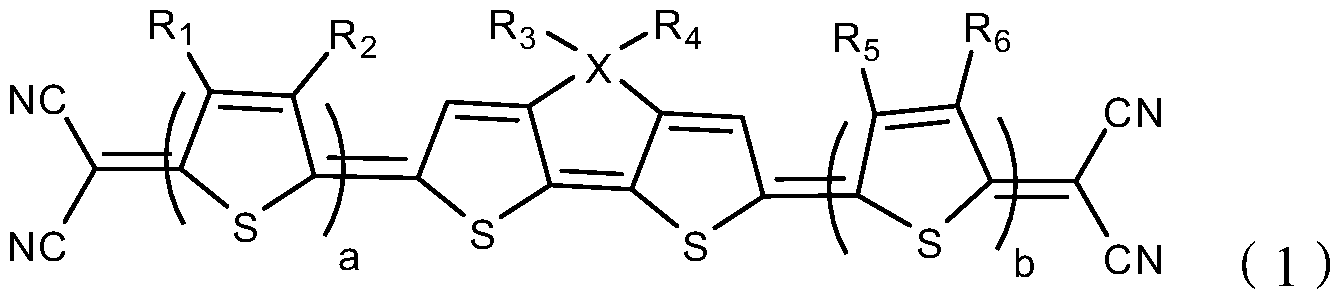 分有机光电材料, 其包含如下结构式(1 )表示的化 stars organic