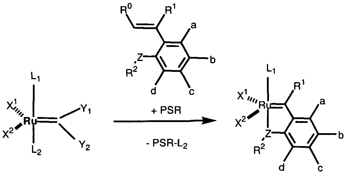 ruthenium olefin metathesis Ruthenium-based olefin metathesis catalysts bearing n.