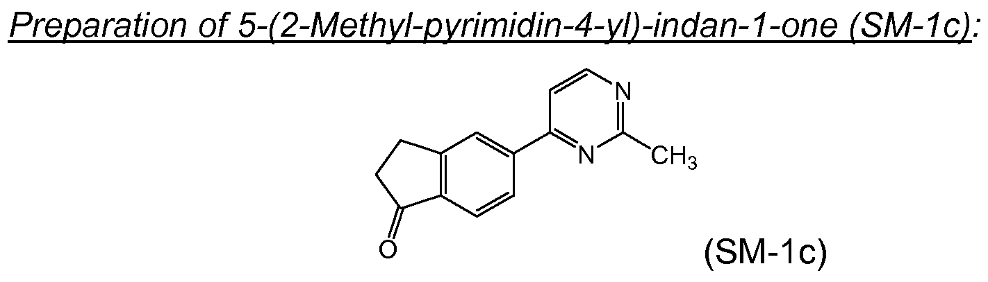Brevetto Wo2011114271a1 2 3 Dihydro 1h Inden 1 Yl 2 7