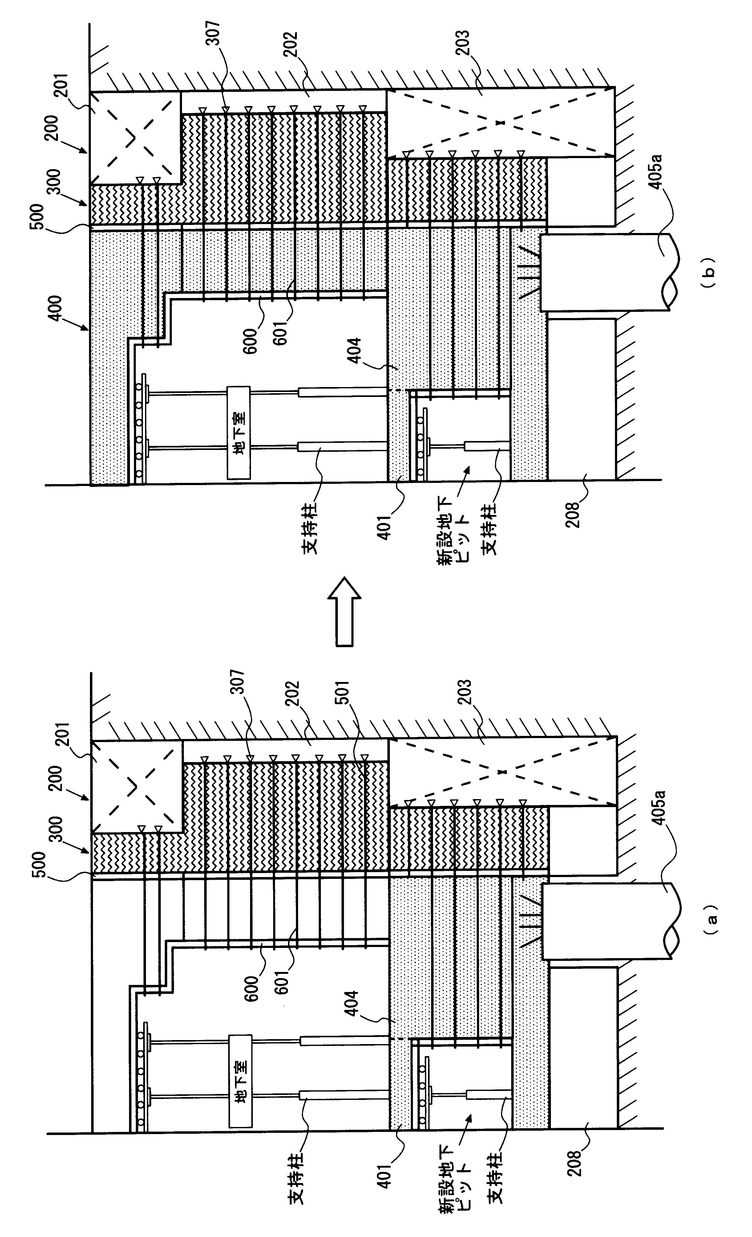 WO2011114507A1 - 新設地下構造物の施工方法         - Google PatentsFamily