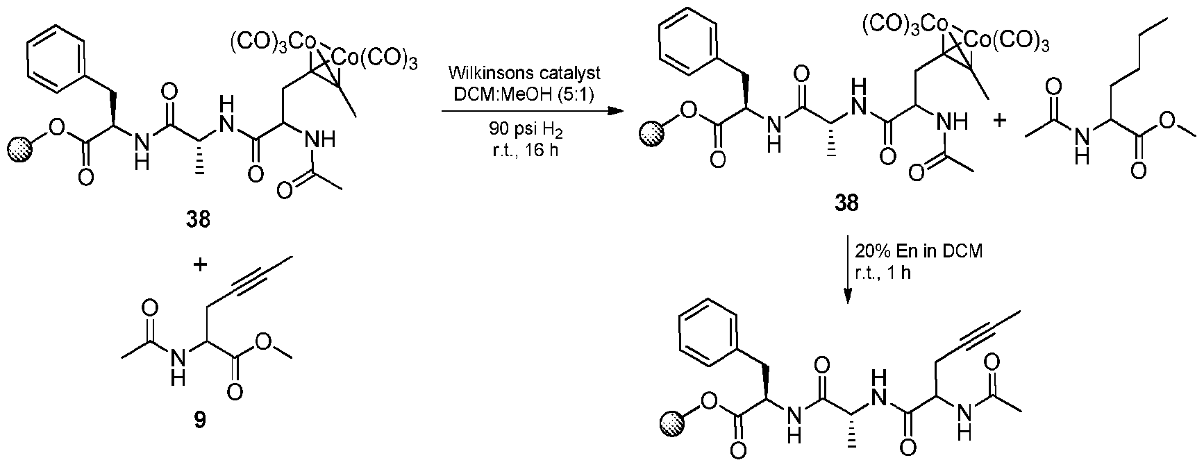 quantitative metathesis Enyloxy)pyridine substituents by alkene metathesis to form a 69-membered   fact, pure 1 was obtained quantitatively and could be reused in subsequent.