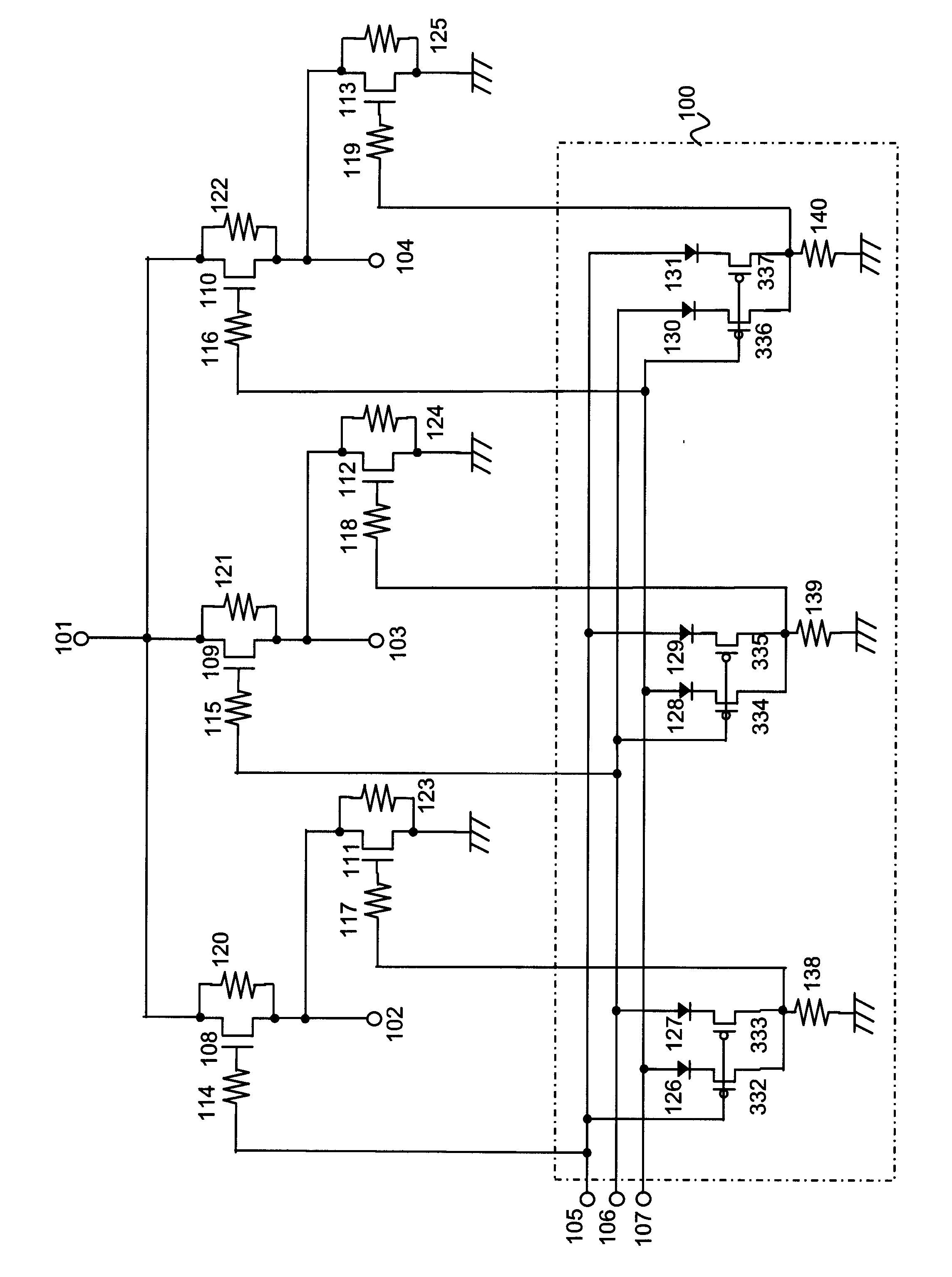 ns-4000tfa普通型高周波电路图
