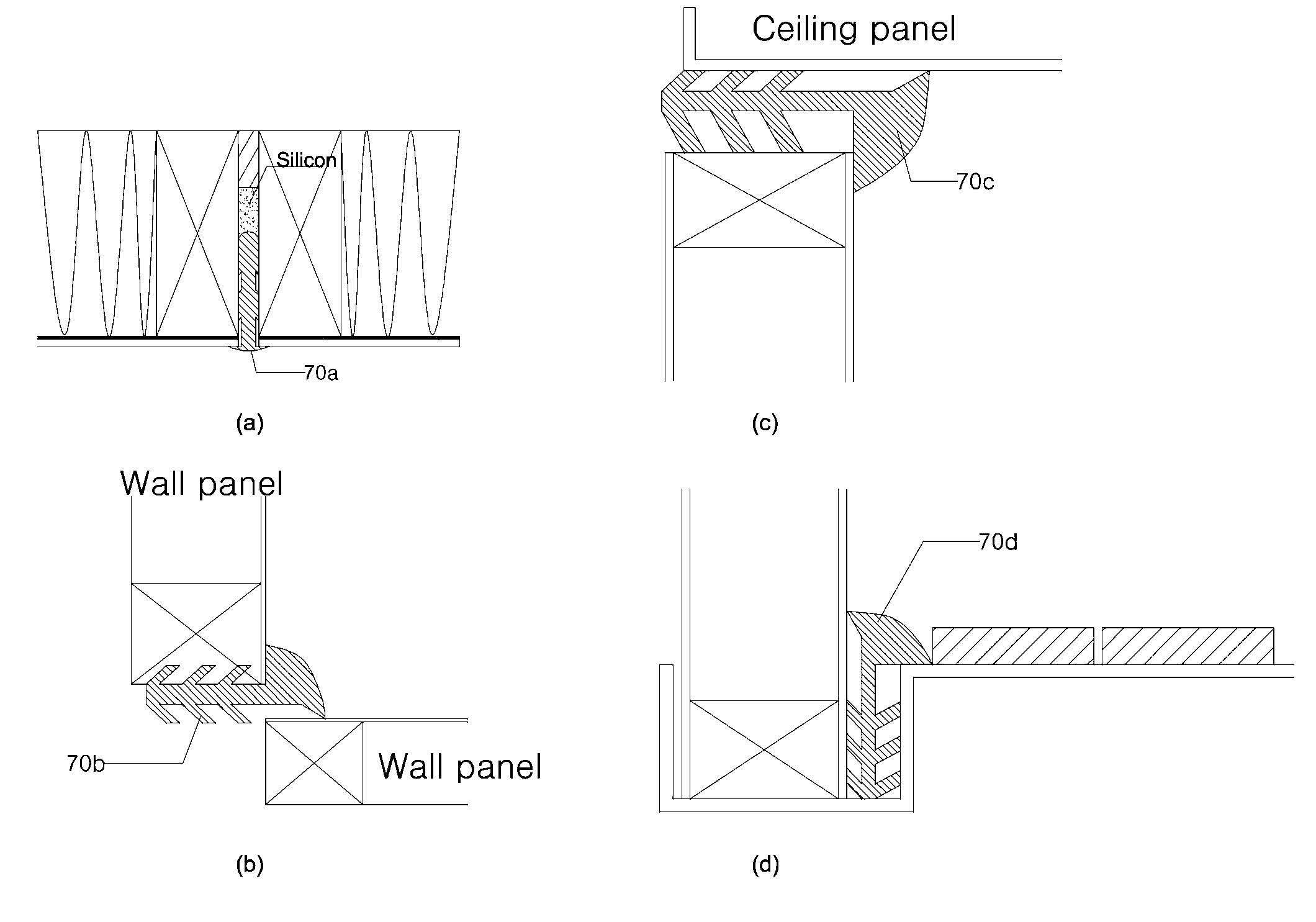 Patent WO2013015615A2 - 조립식 욕실용 하이브리드 벽판넬 구조 - Google ...