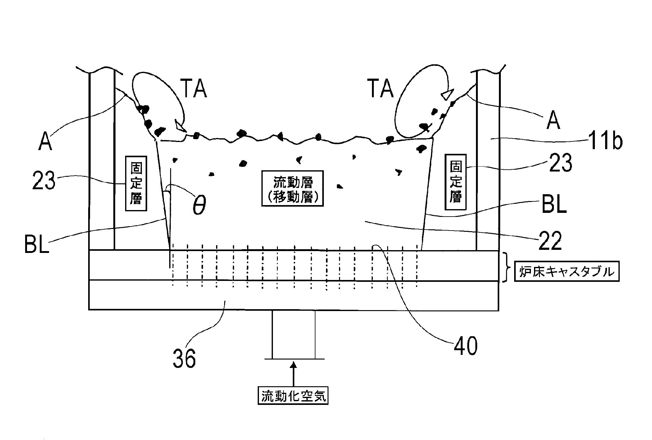 WO2013035615A1 - 流動床炉及び流動床炉を用いた廃棄物の処理方法         - Google PatentsFamily