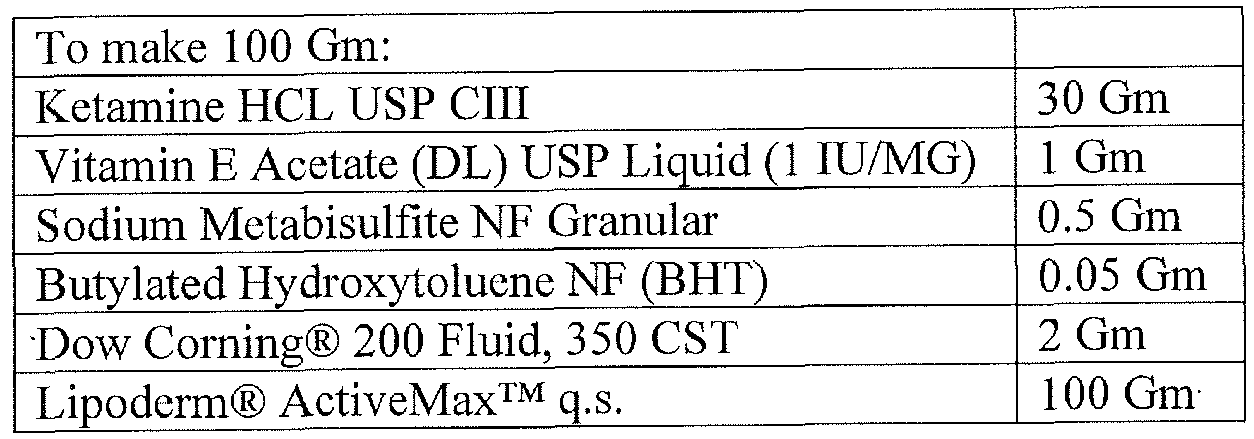 Patent WO2013048453A1 - Compounded transdermal pain ...