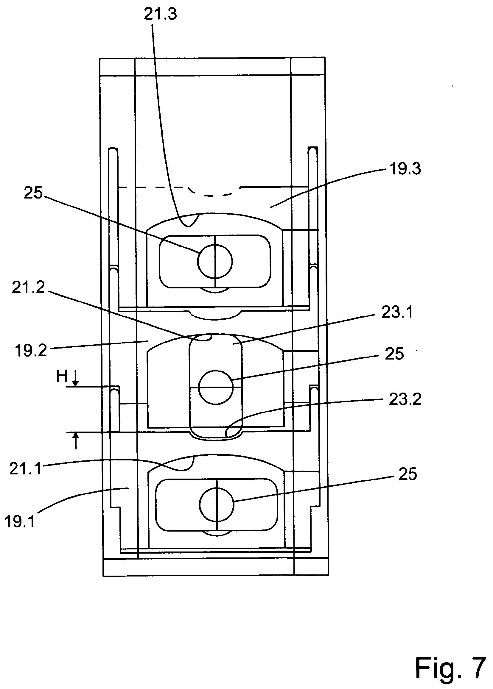 Patent WO2013087369A1 - Auszugsicherung für schubladen - Google ...