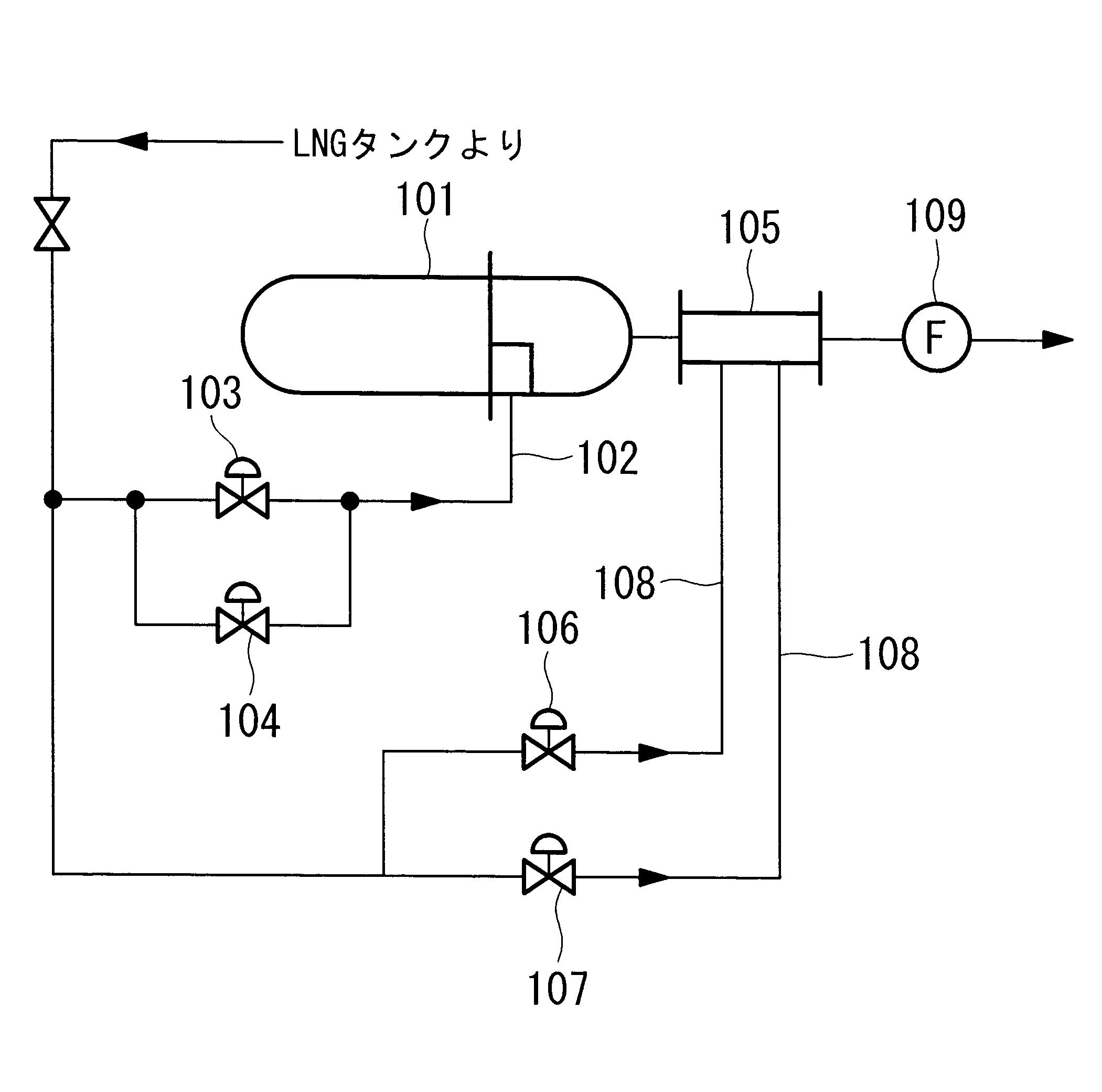 Patent Drawing WO2013146316A1 - 船舶、液化ガス蒸発装置およびその
