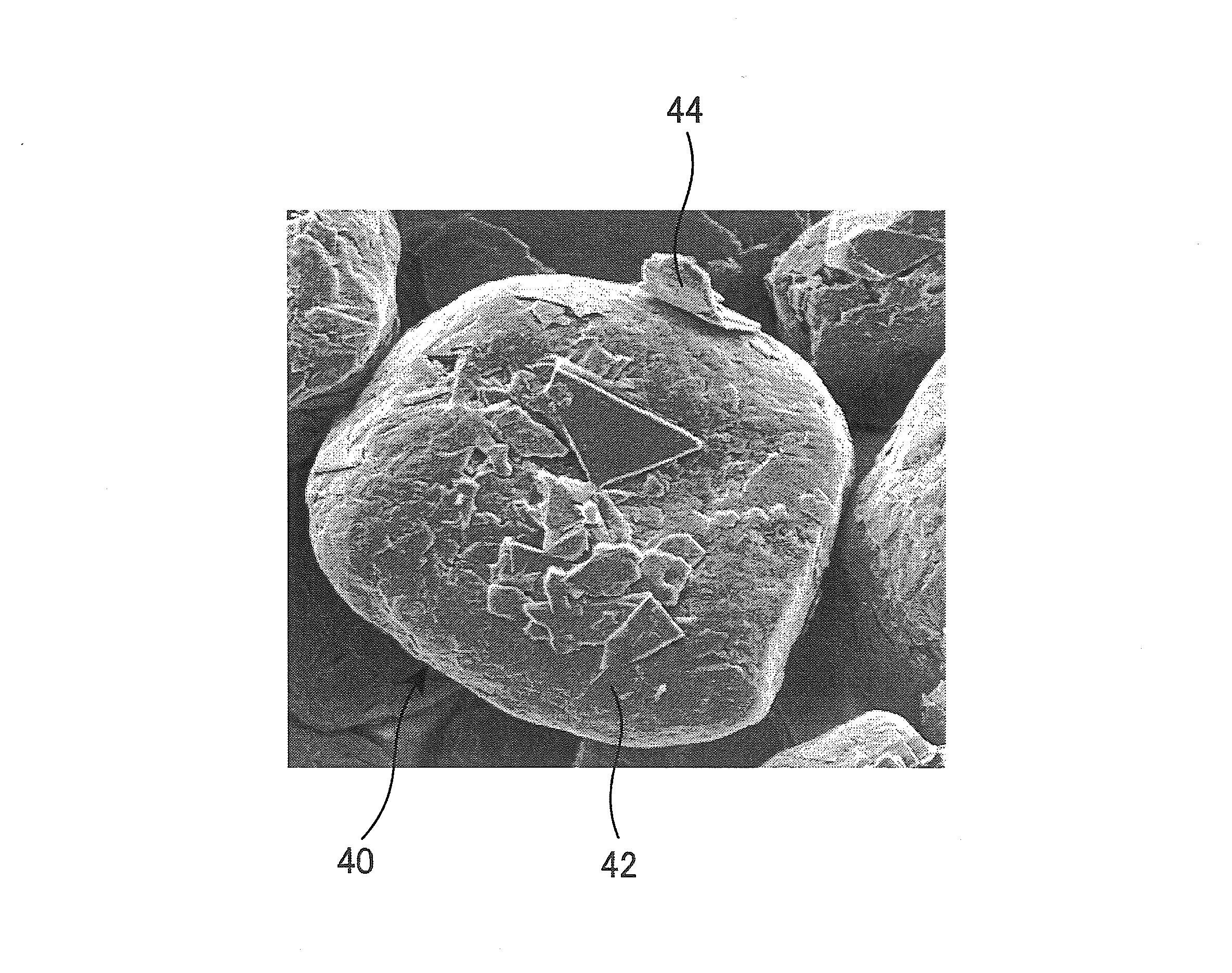 Patent Drawing 複合黒鉛質材料及びその製造方法、リチウムイオン二次電池用負極材料、
