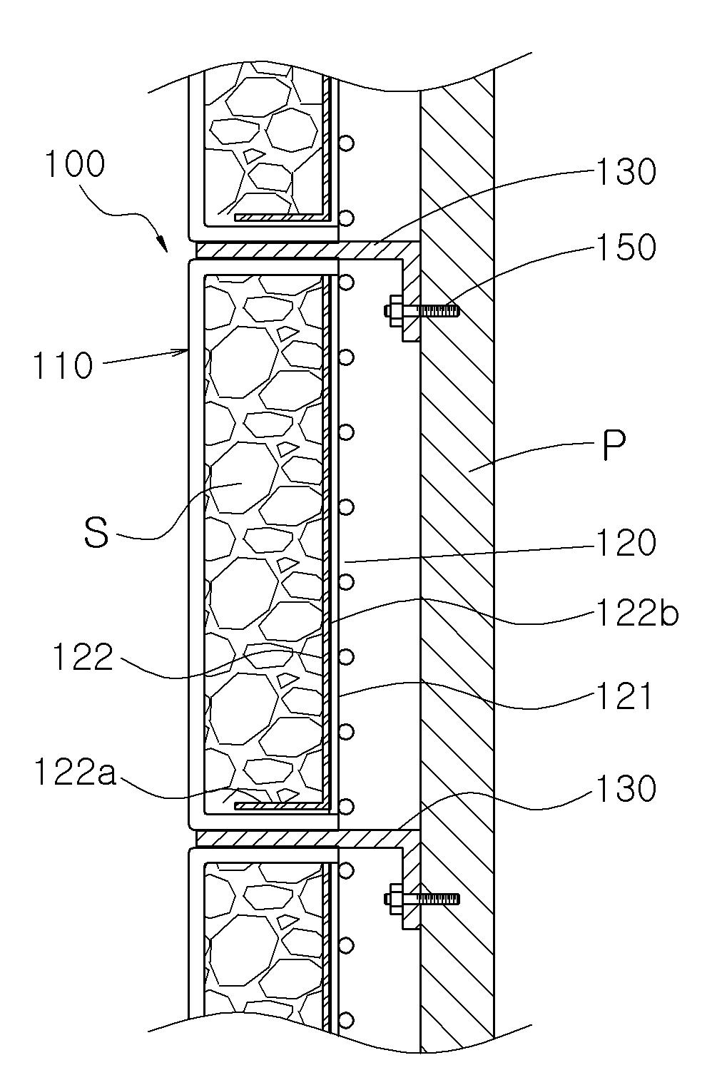 Patent WO2014081055A1 - 채움재부착판을 갖는 조립식 개비온벽체 ...
