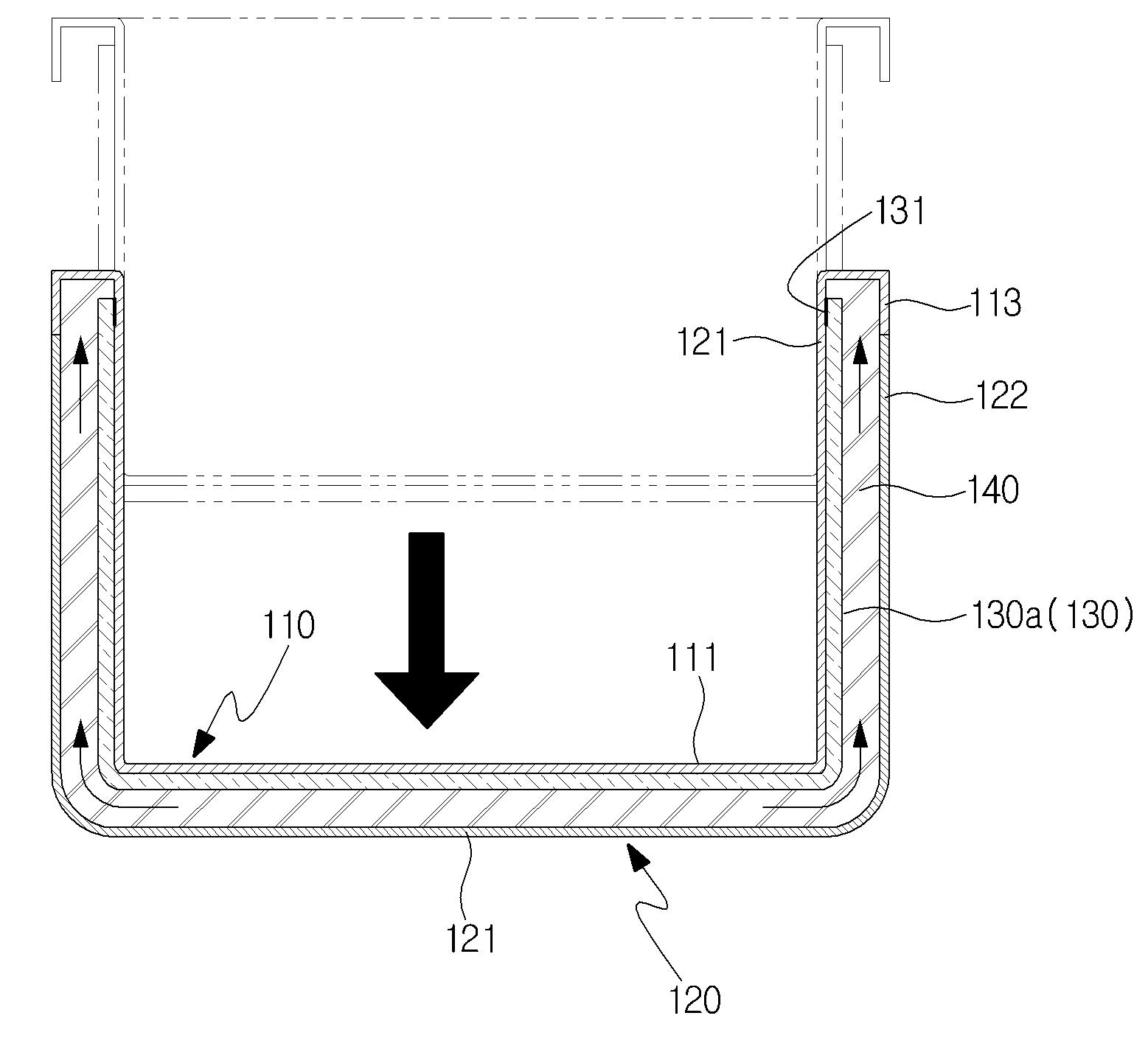 patent wo2014163274a1 glaci re utilisant un isolant sous vide courb et son proc d de. Black Bedroom Furniture Sets. Home Design Ideas