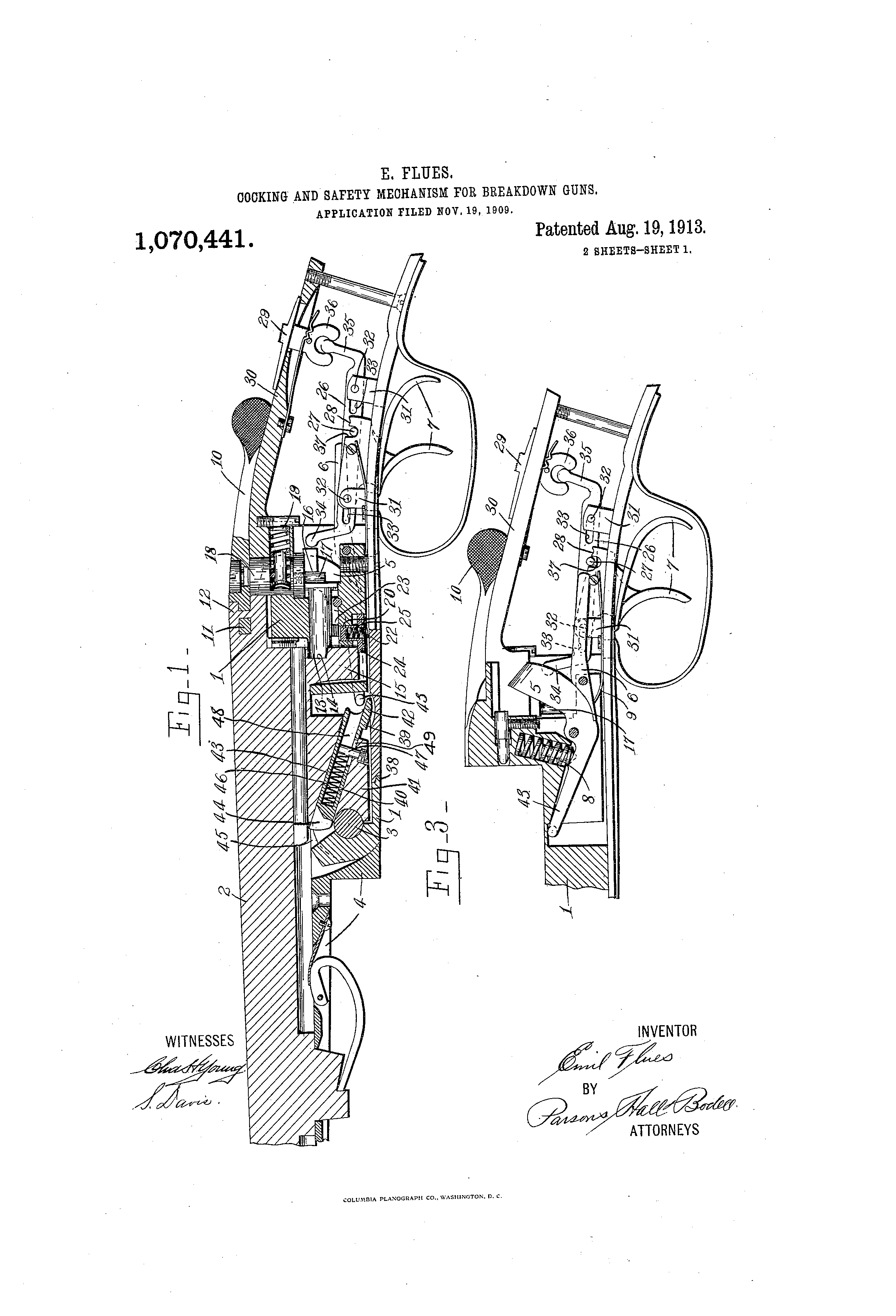 Patent Us1070441