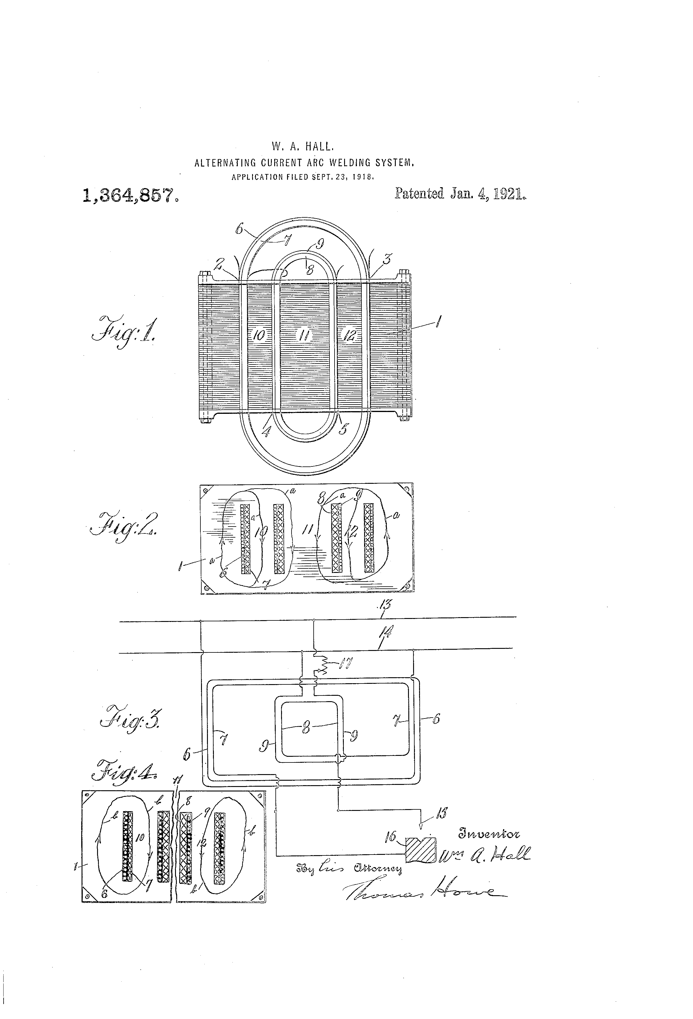 Patent Us1364857 Alternating Current Arc Welding System Google Diagram Drawing