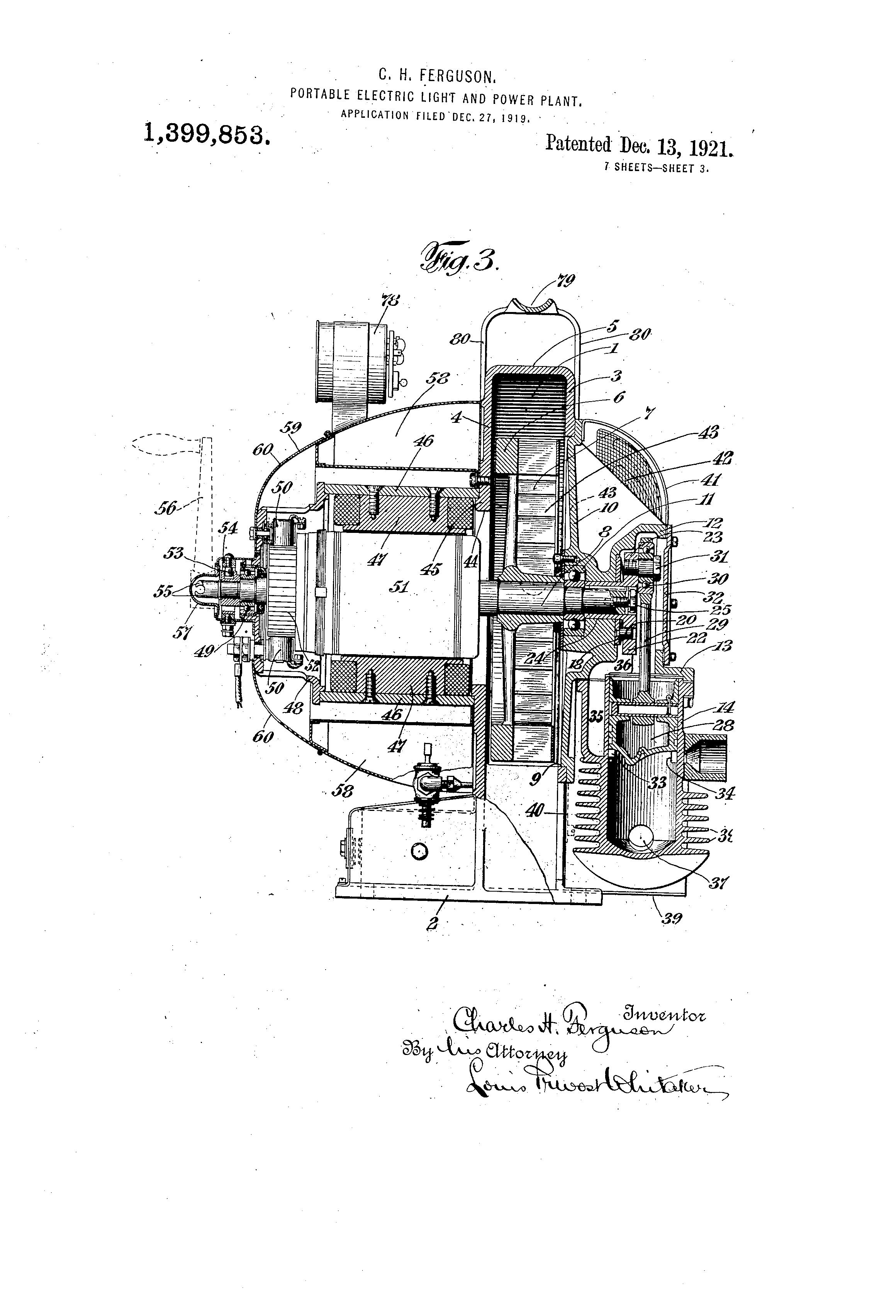 patent us1399853