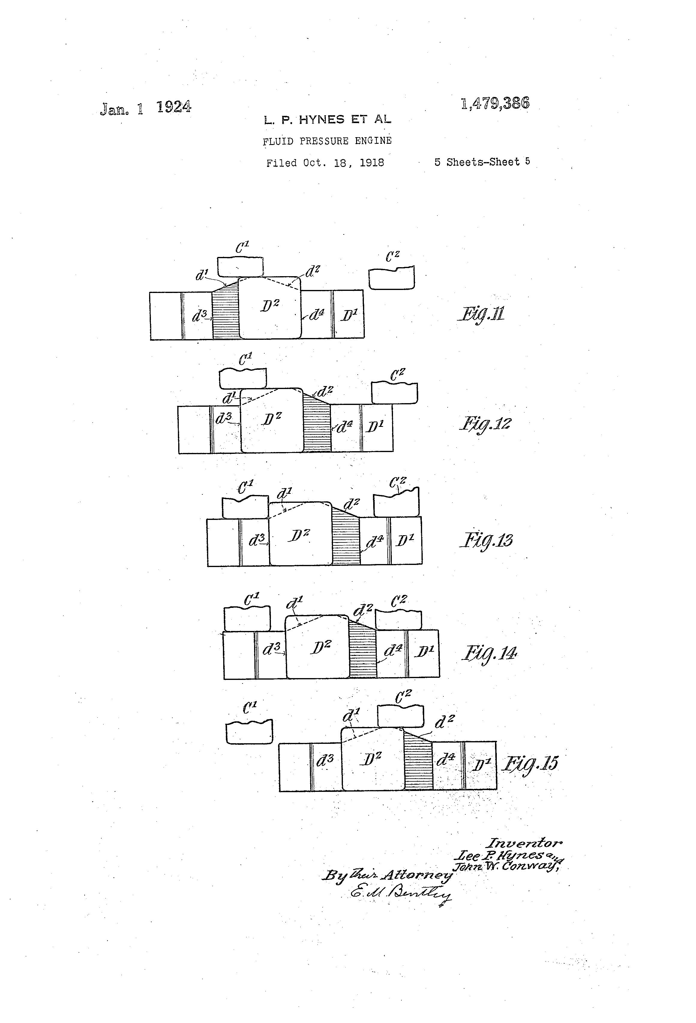 Patent US Fluid pressure engine Google Patents