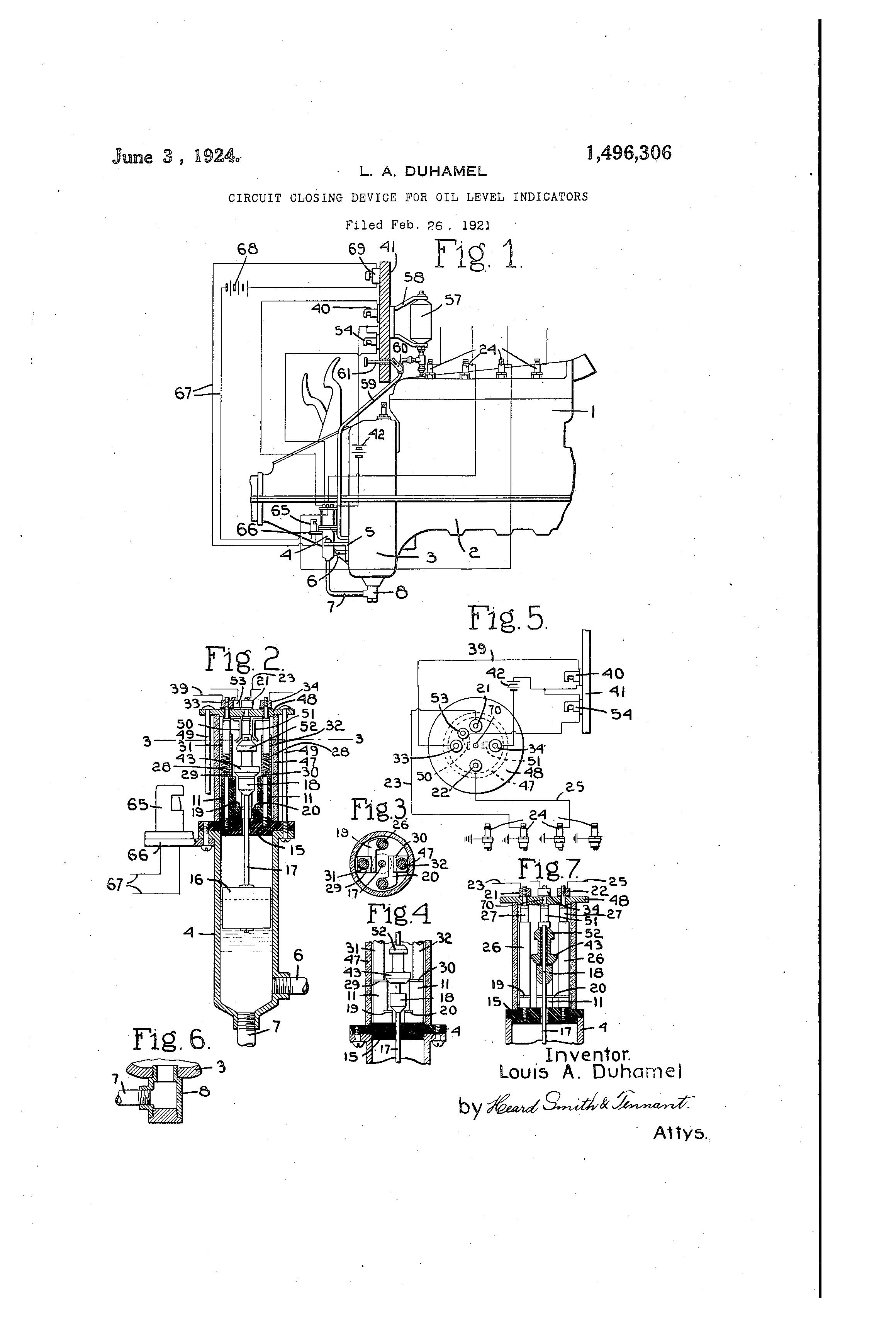 patent us1496306