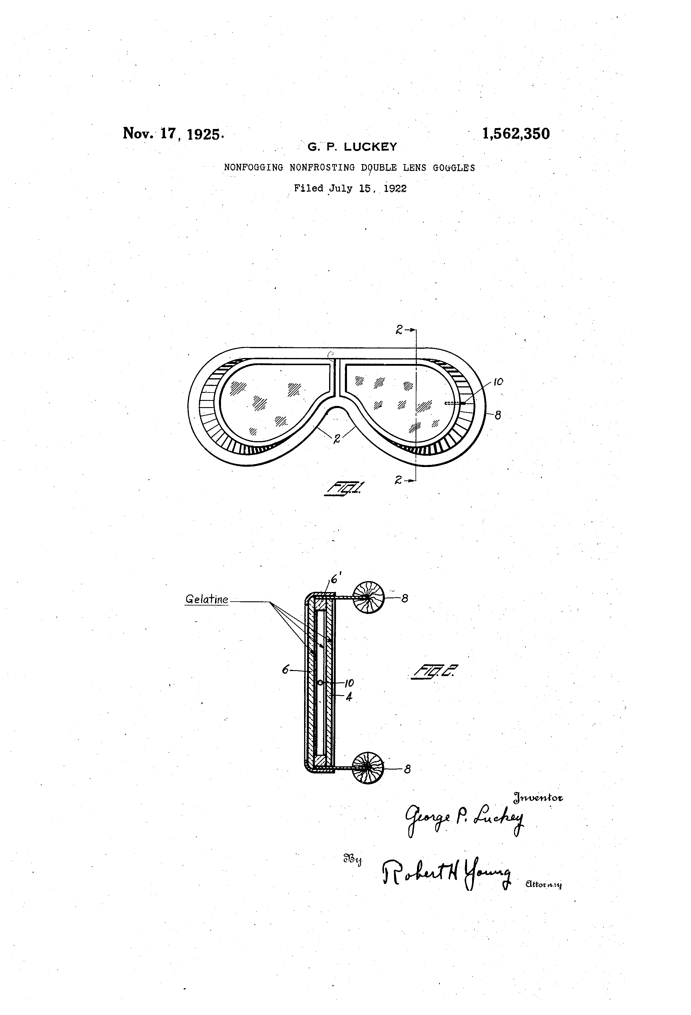 94e0b828142b Patent US1562350 - Nonfogging
