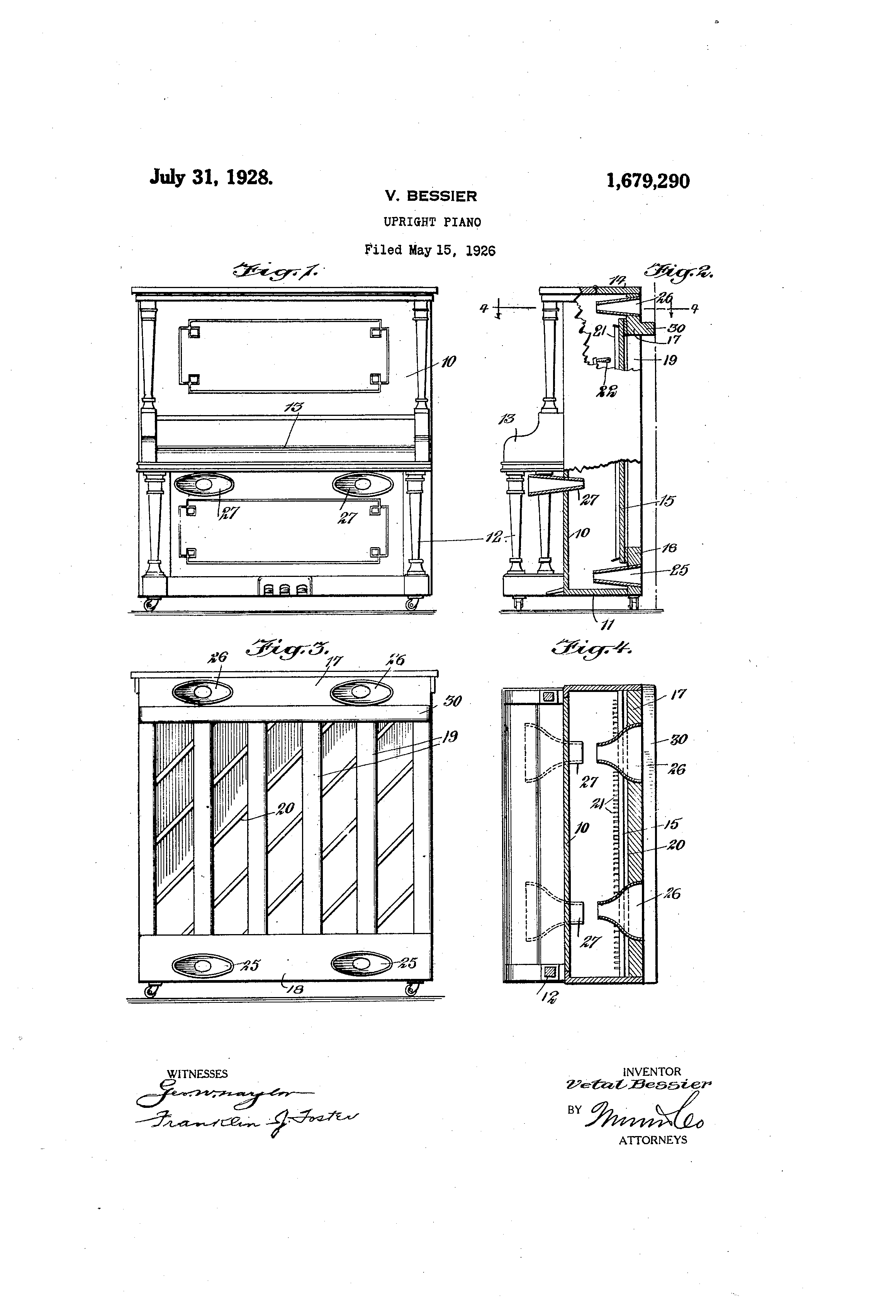 Patent us1679290 upright piano google patents for What are the dimensions of an upright piano