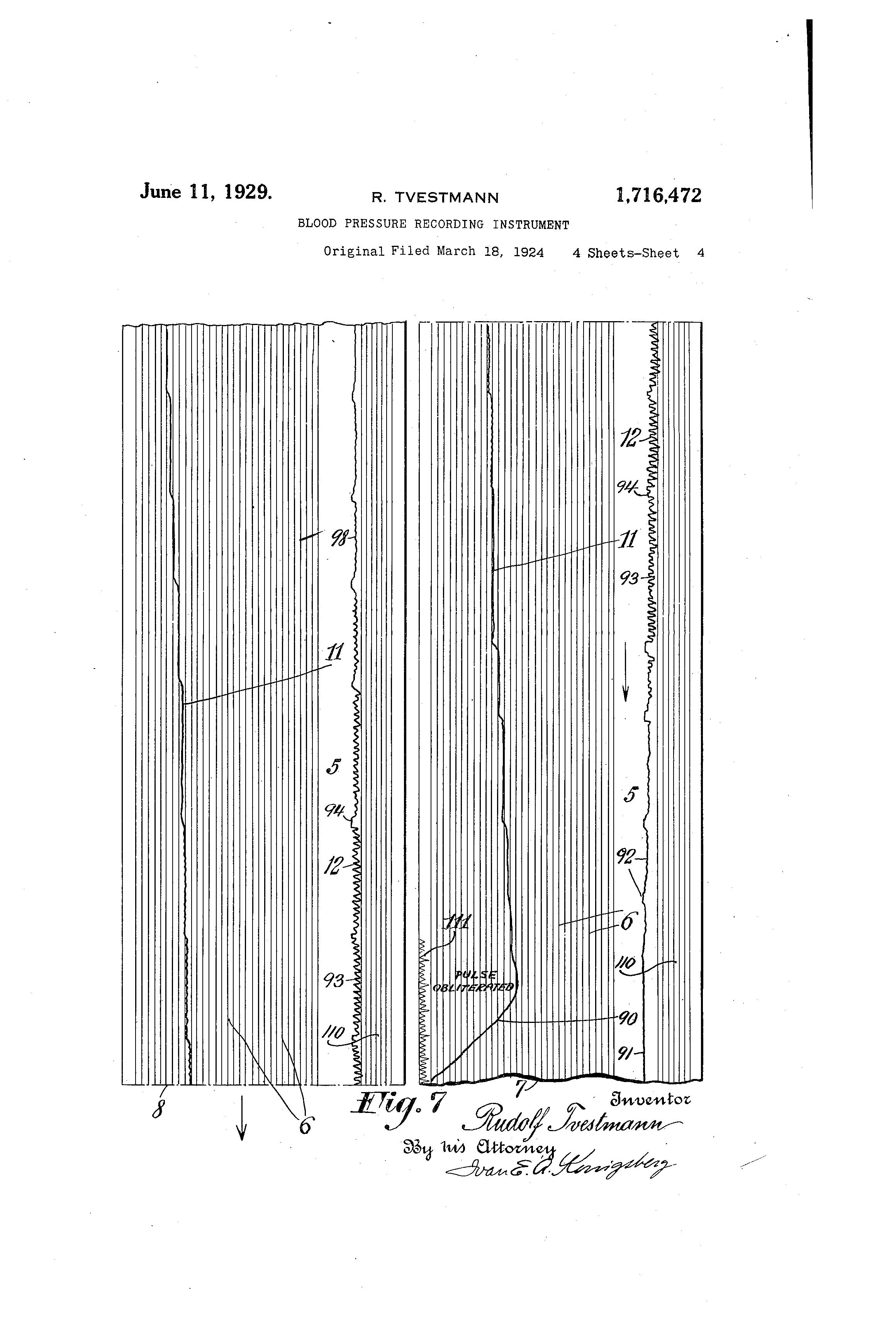 blood pressure record sheet