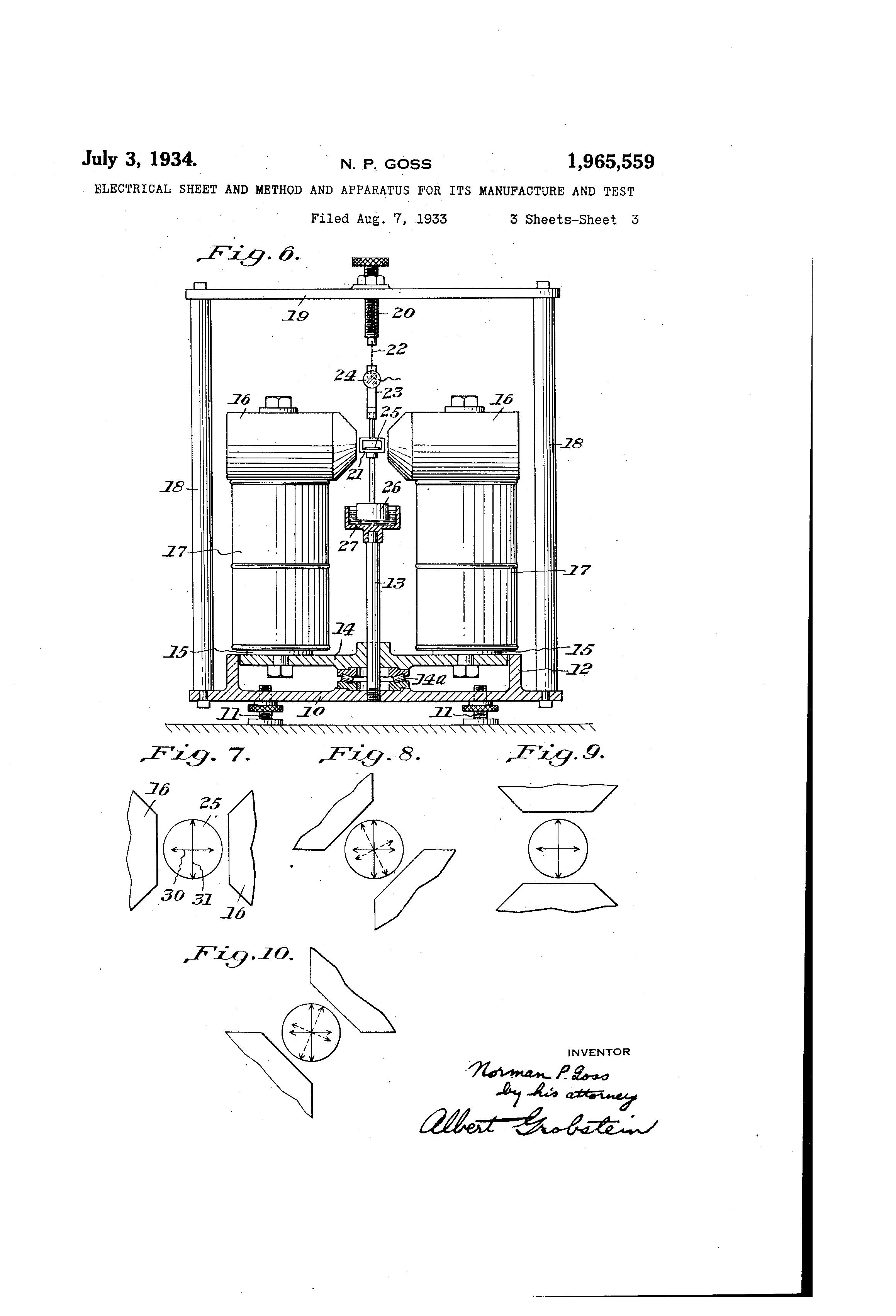 patent us1965559