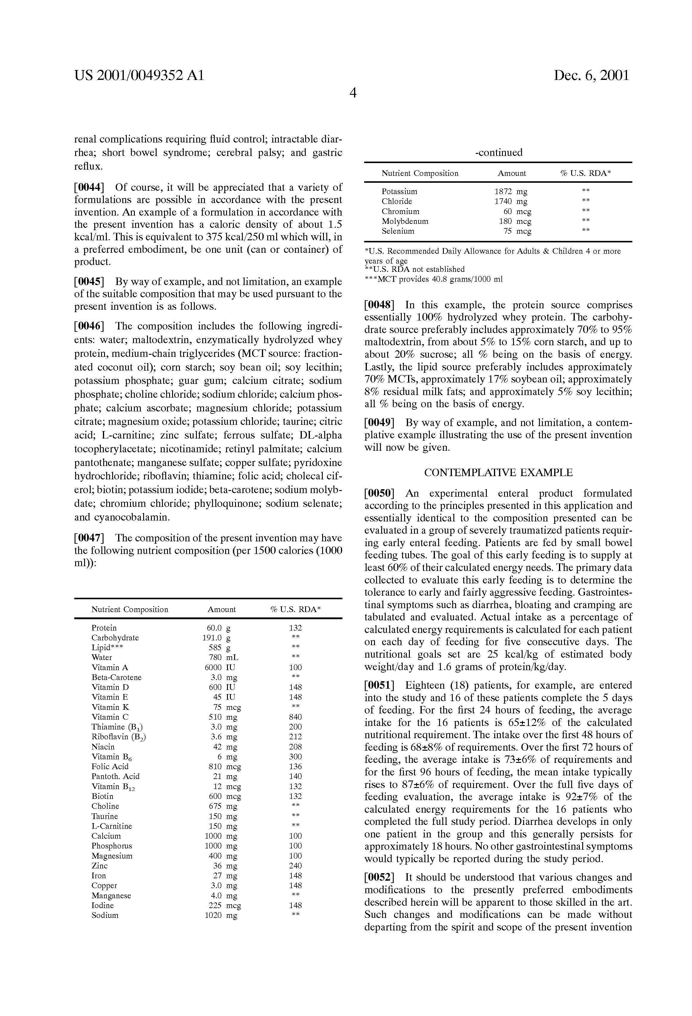 nutritional composition of cassava pdf