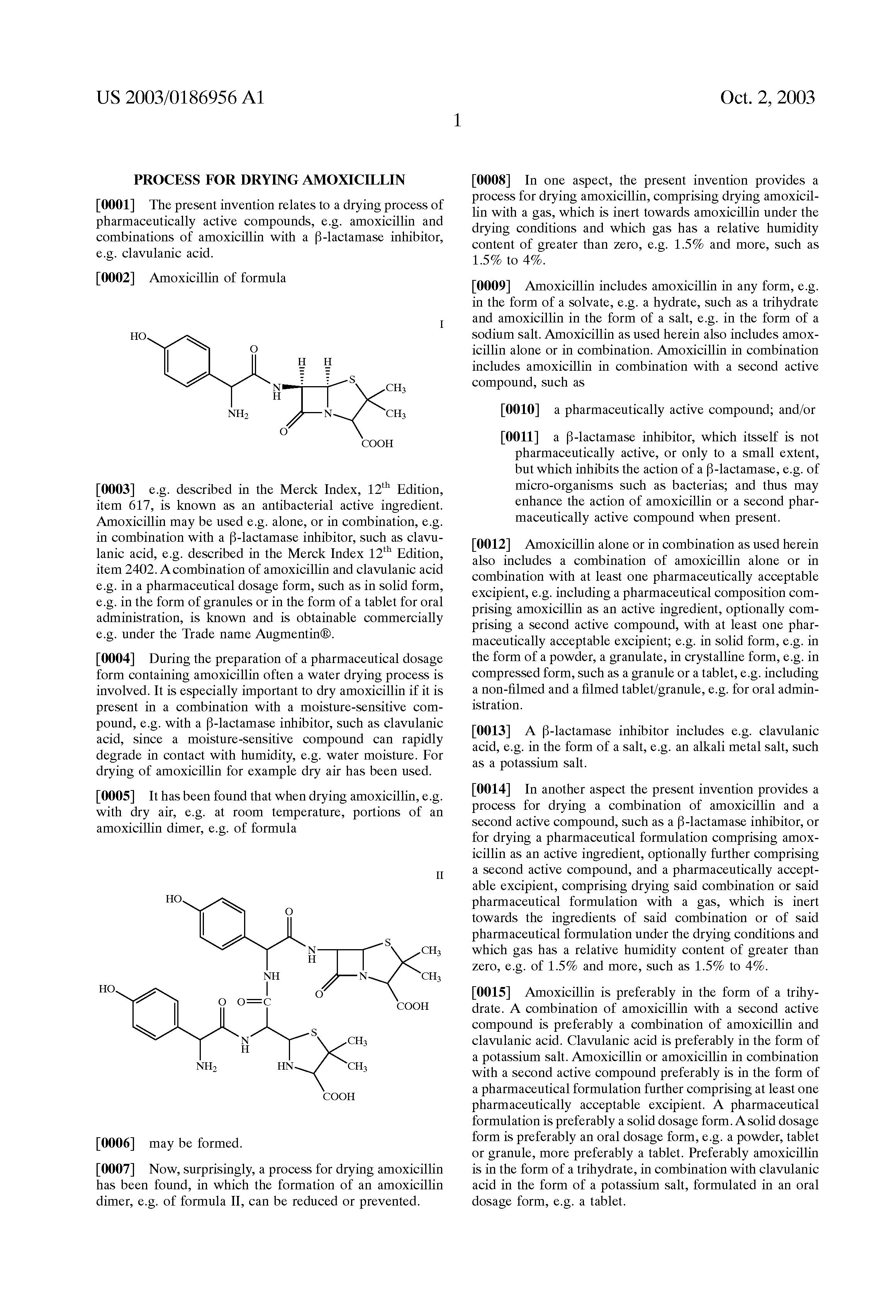 Buy amoxicillin clavulanic acid.doc - Patent Drawing