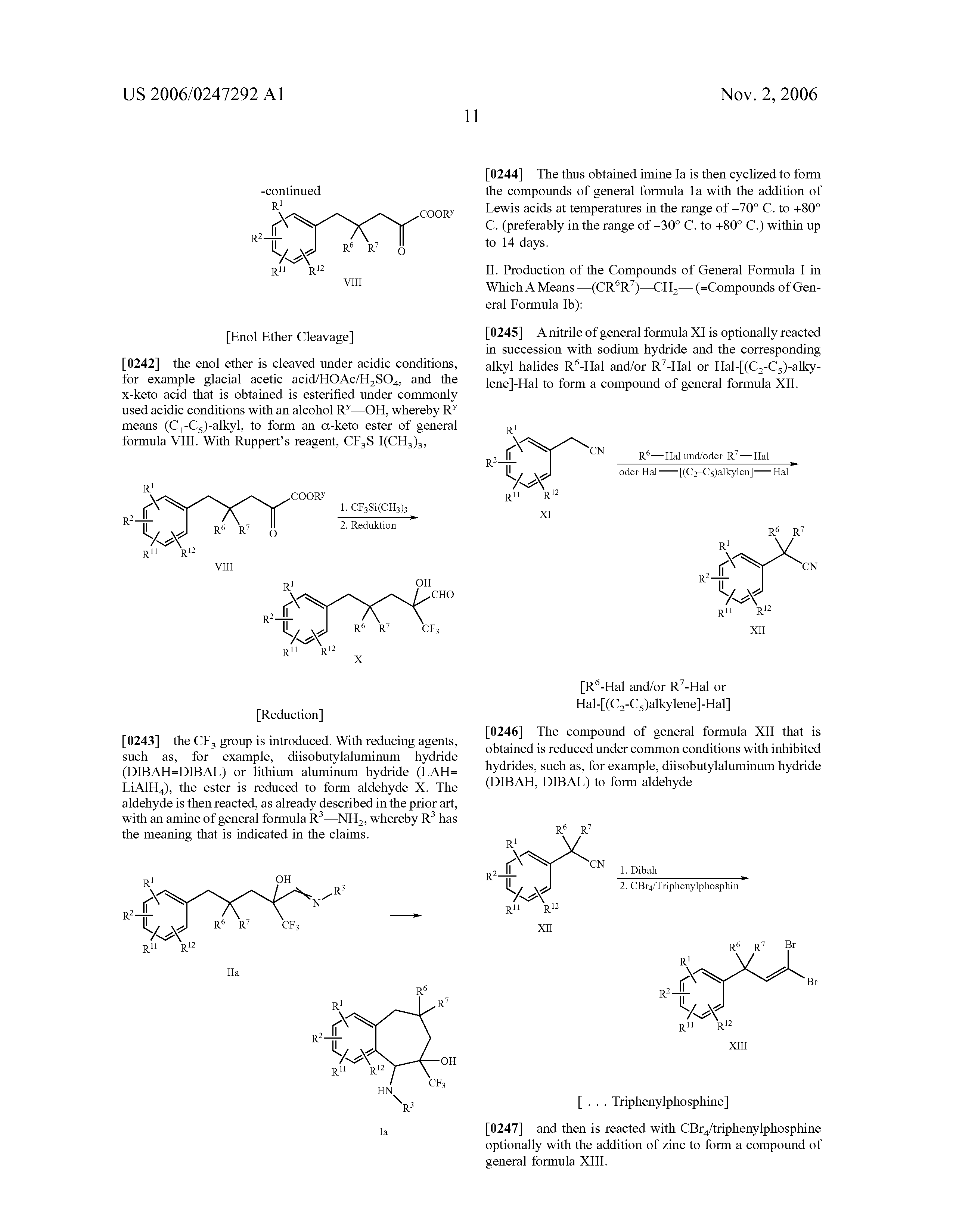 Patent US20060247292 - Benzocycloheptene derivatives, process for ...