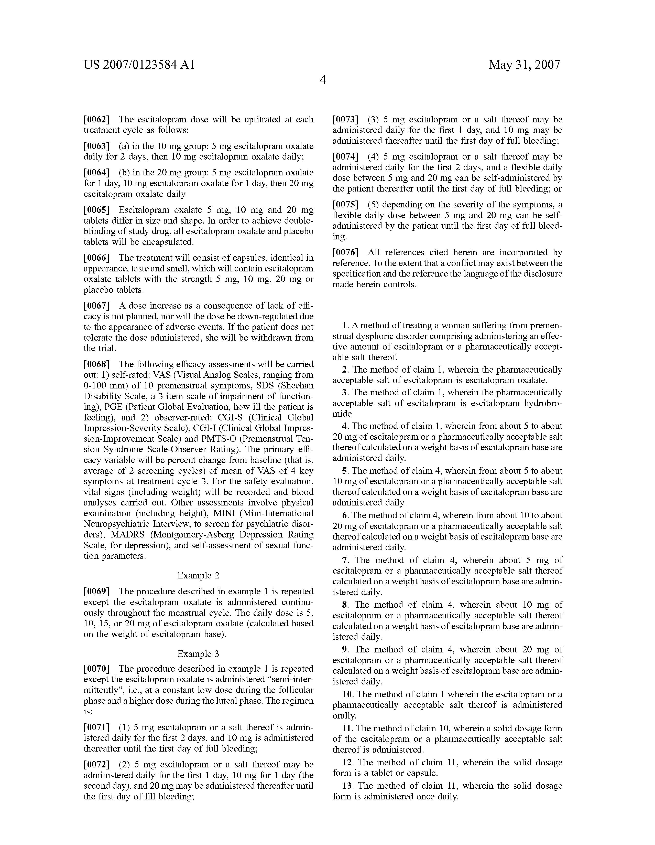 20mg lexapro dose.doc - Patent Drawing