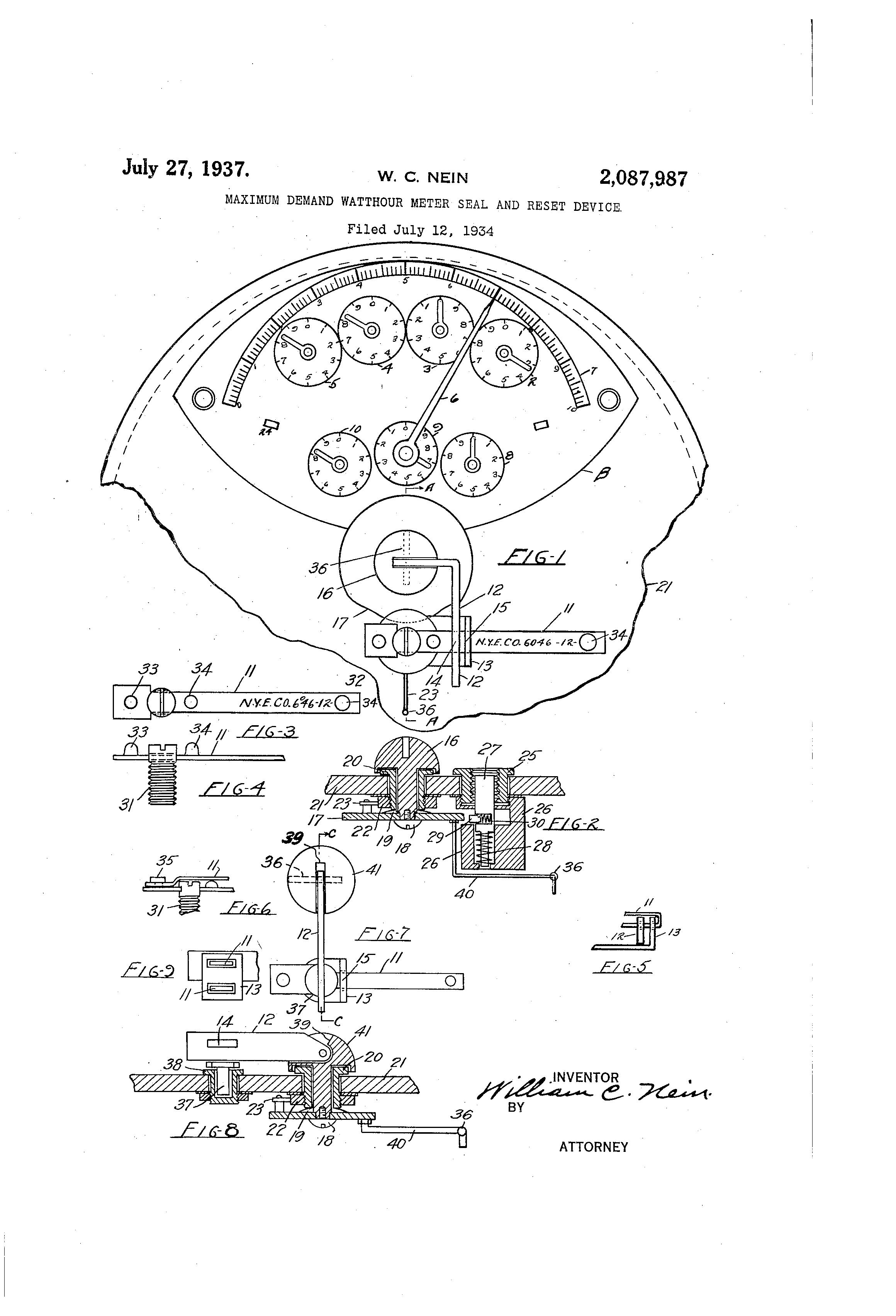 patent us2087987