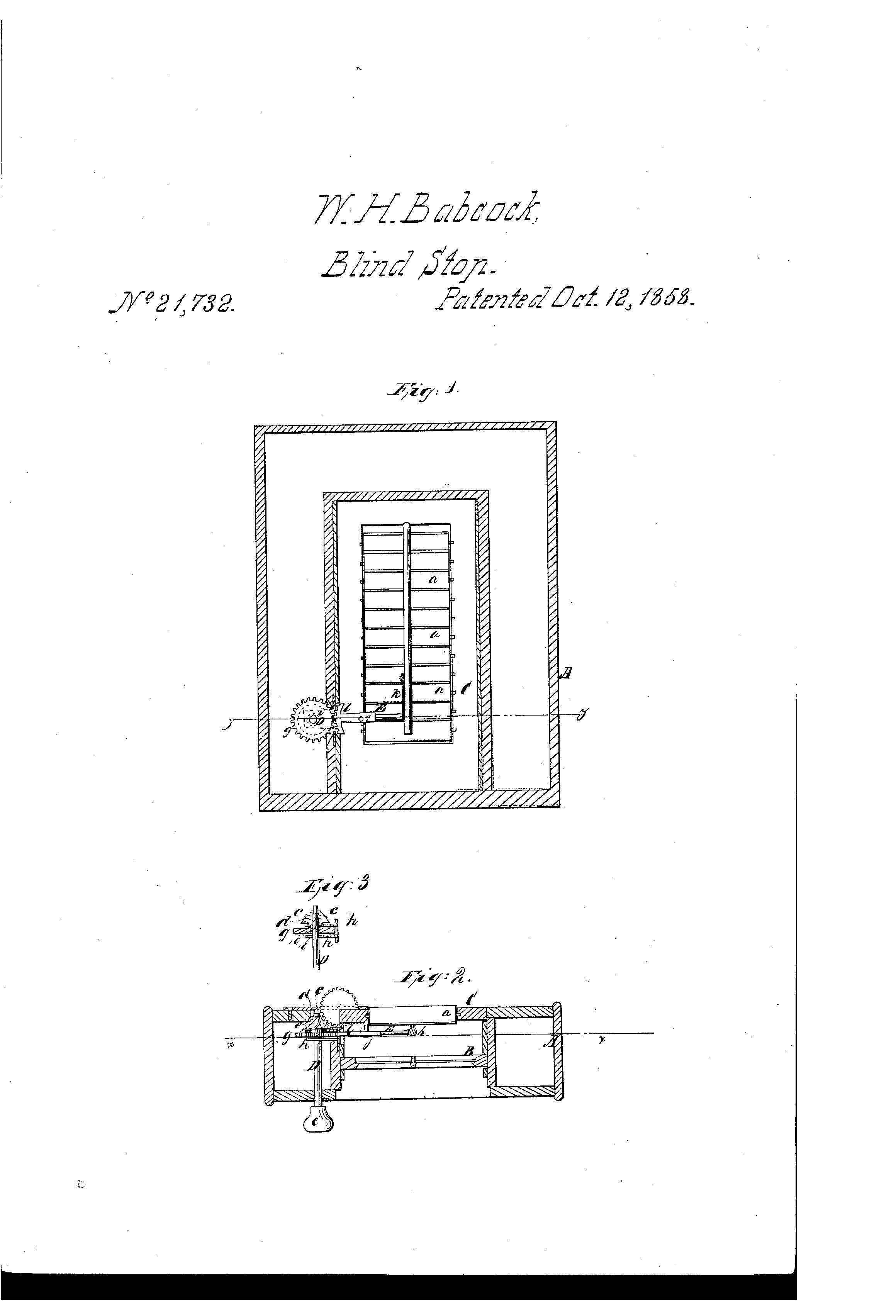 Patent Us21732 Method Of Adjusting Window Blinds Google Patents