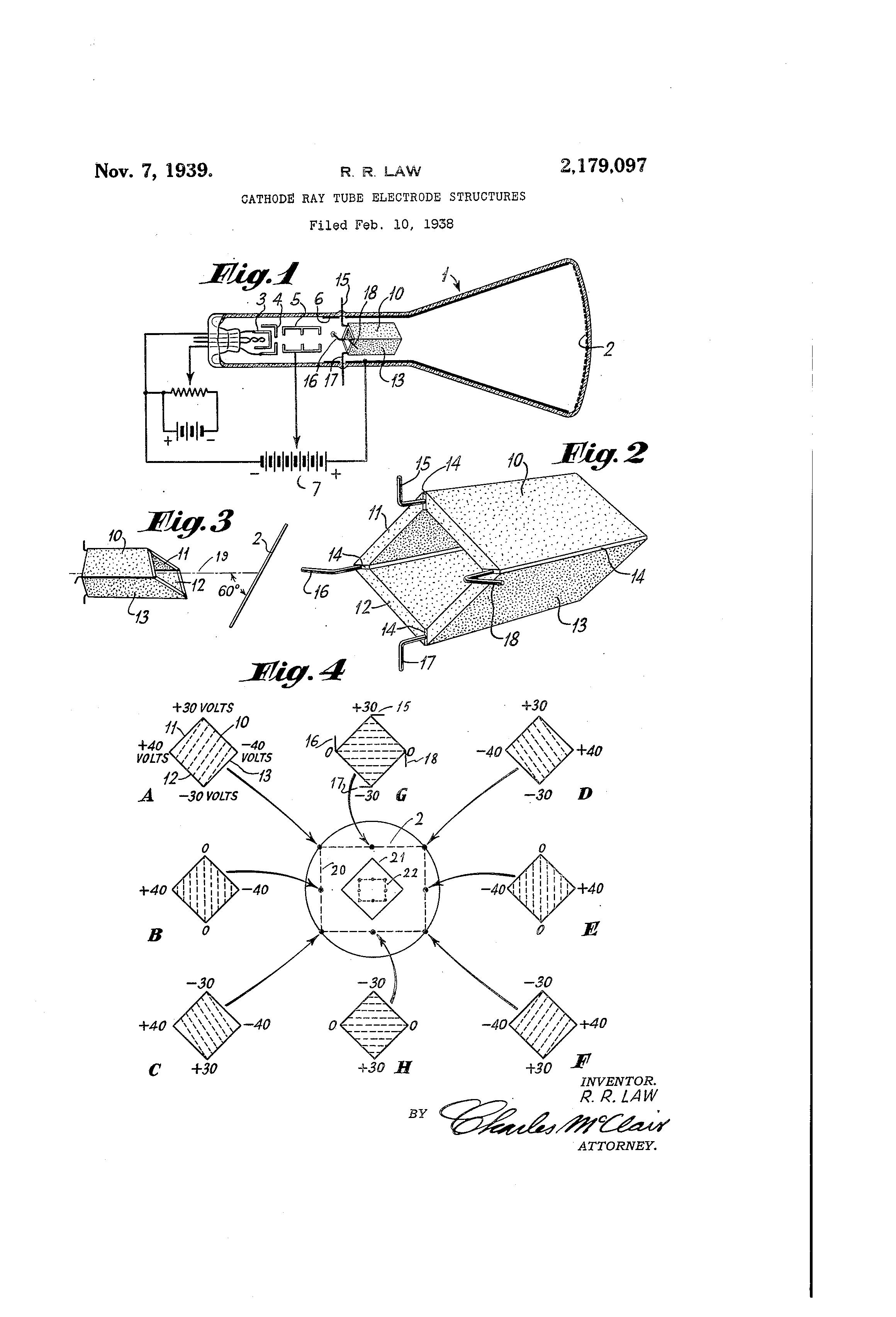 patent us2179097