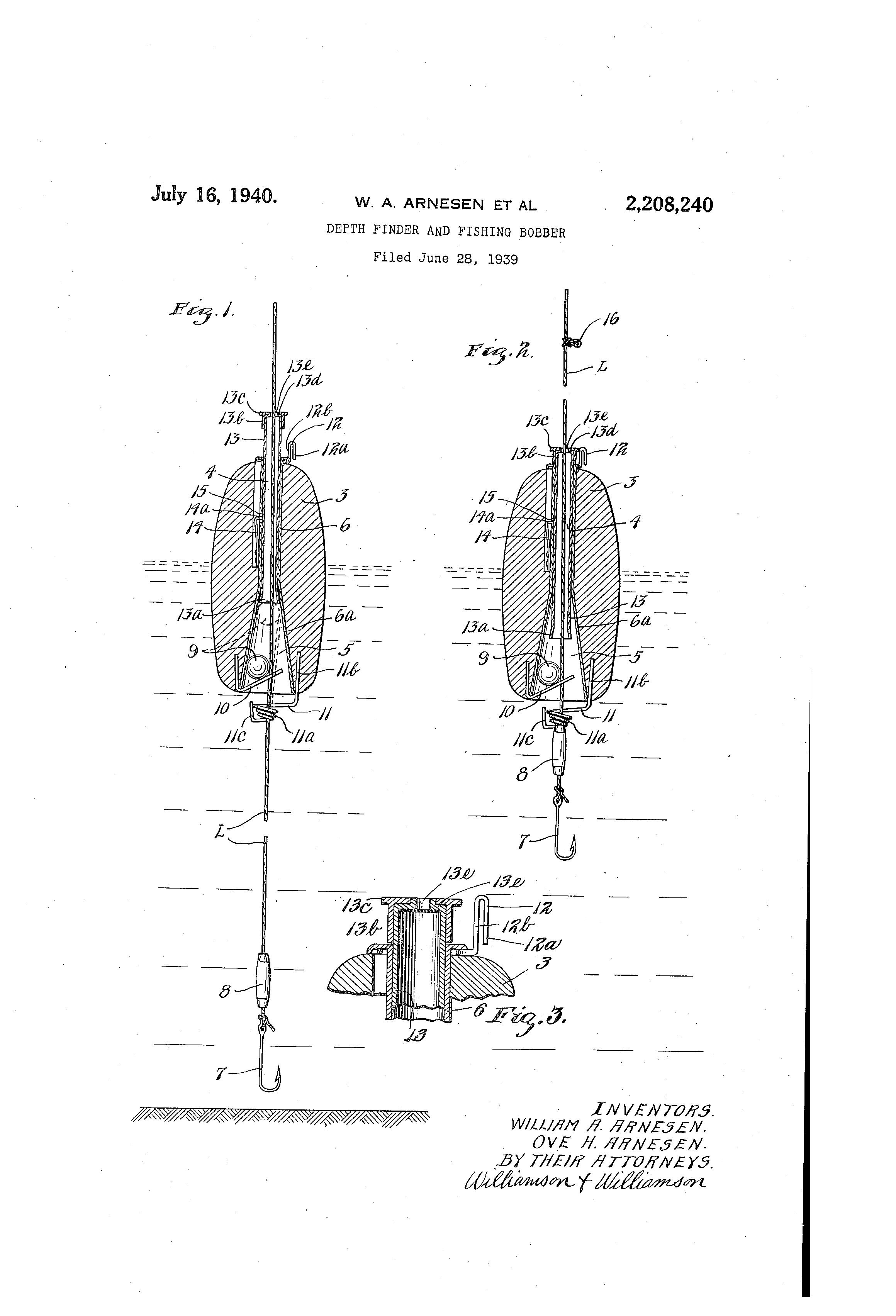 patent us2208240