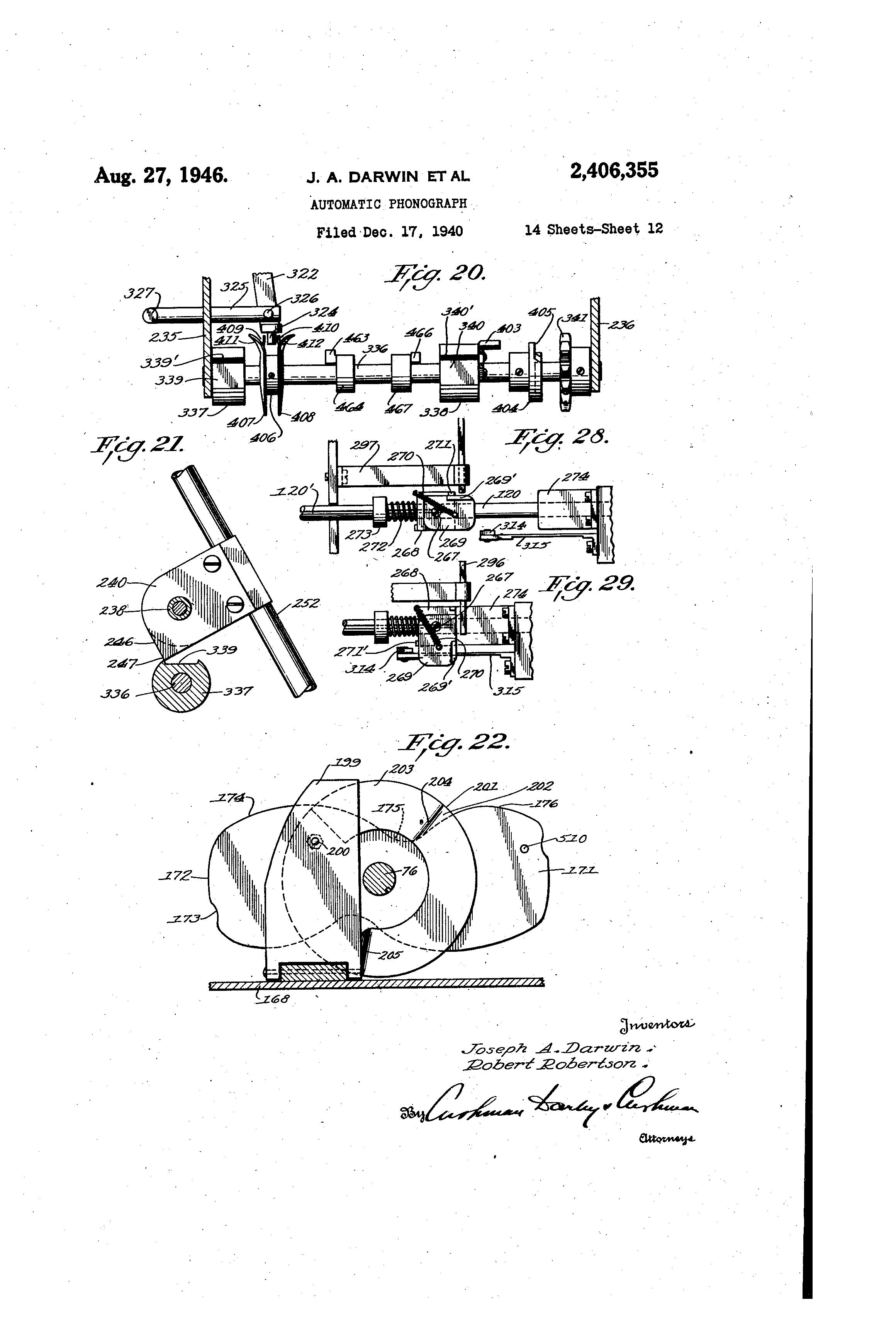 US2406355 11 patent us2406355 automatic phonograph google patents hub2b wiring diagram at soozxer.org