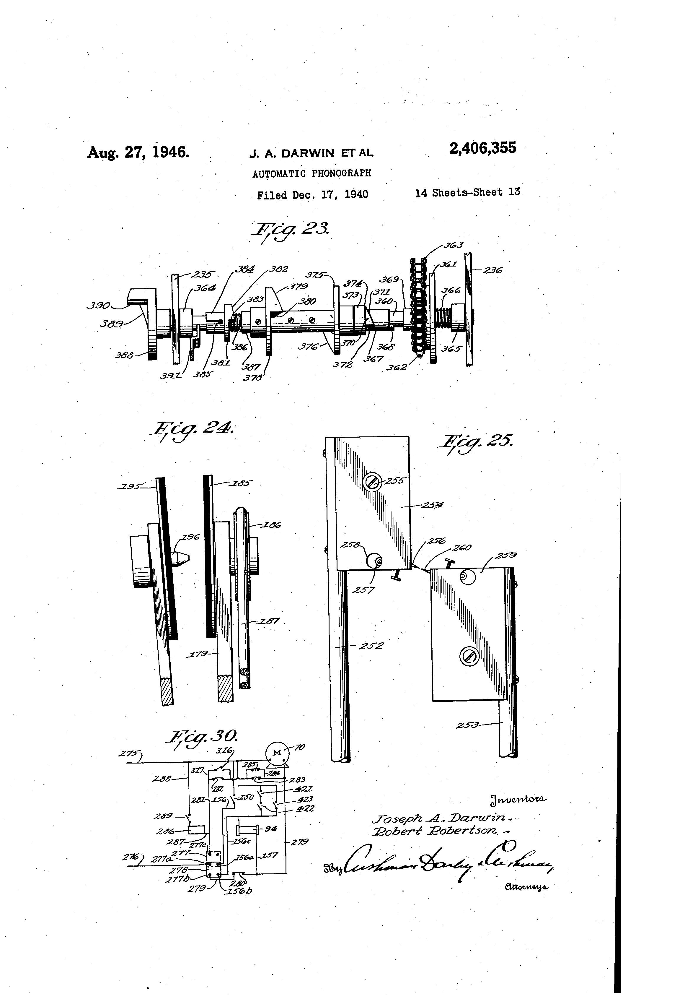 US2406355 12 patent us2406355 automatic phonograph google patents hub2b wiring diagram at soozxer.org
