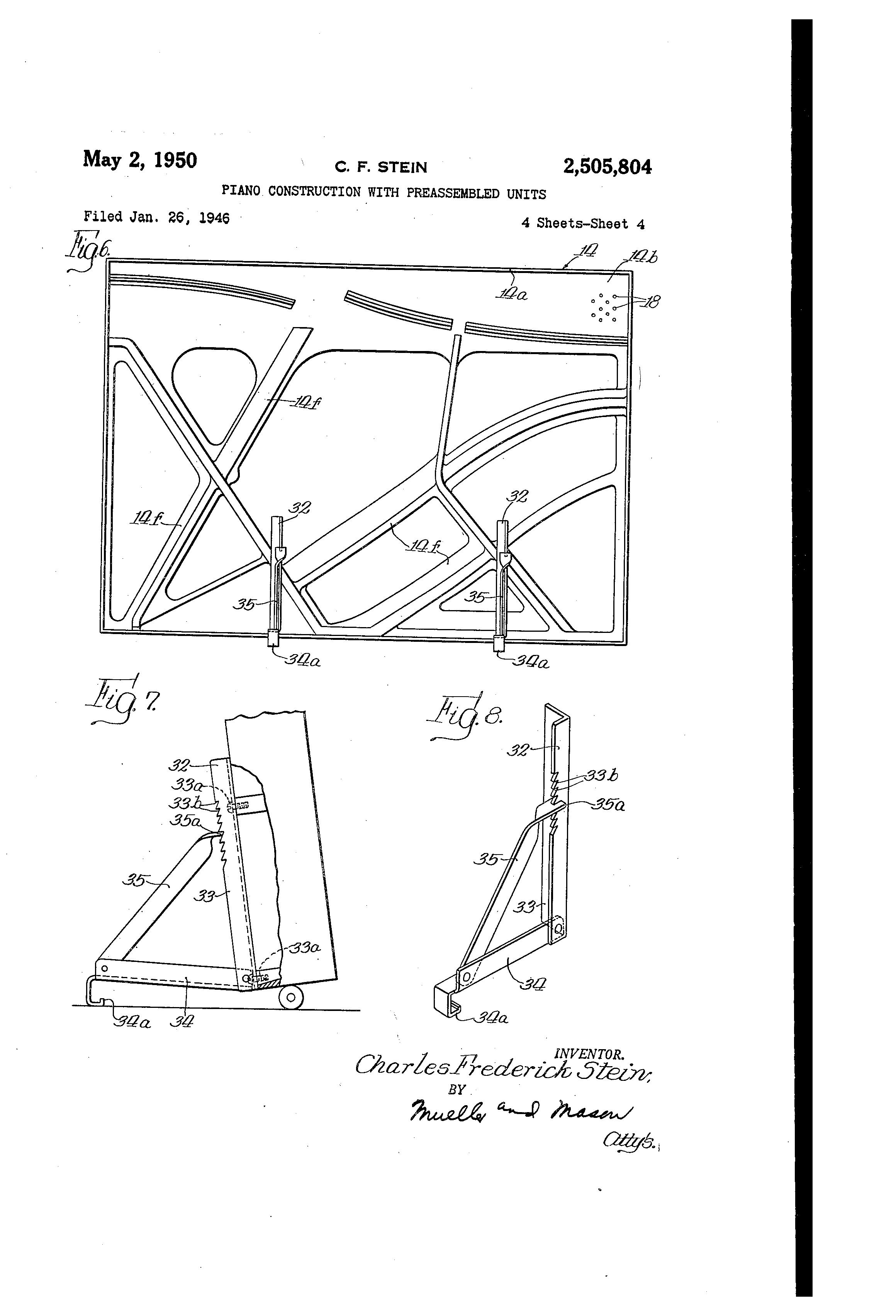 patent us2505804