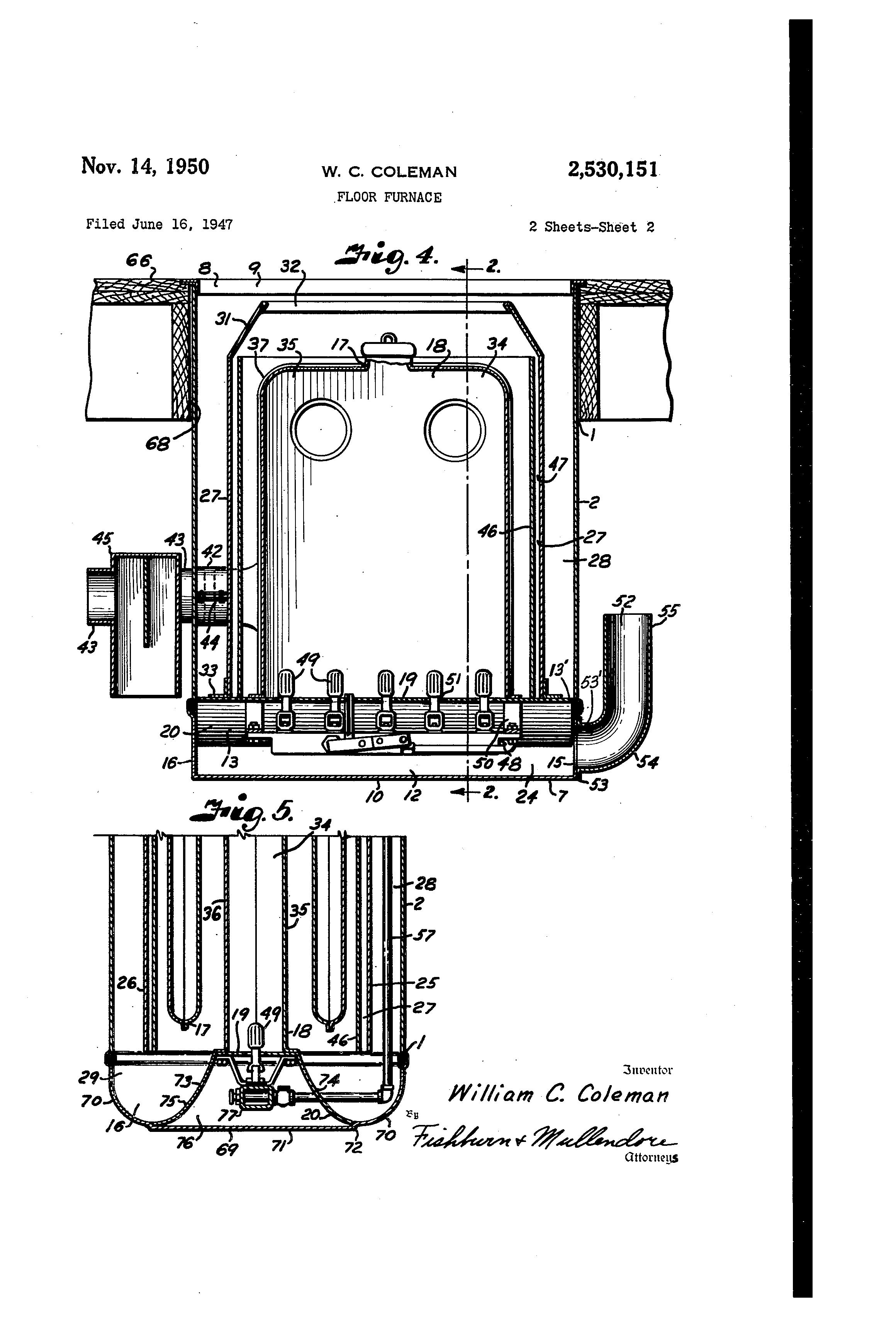 floor furnaces 1950 related keywords