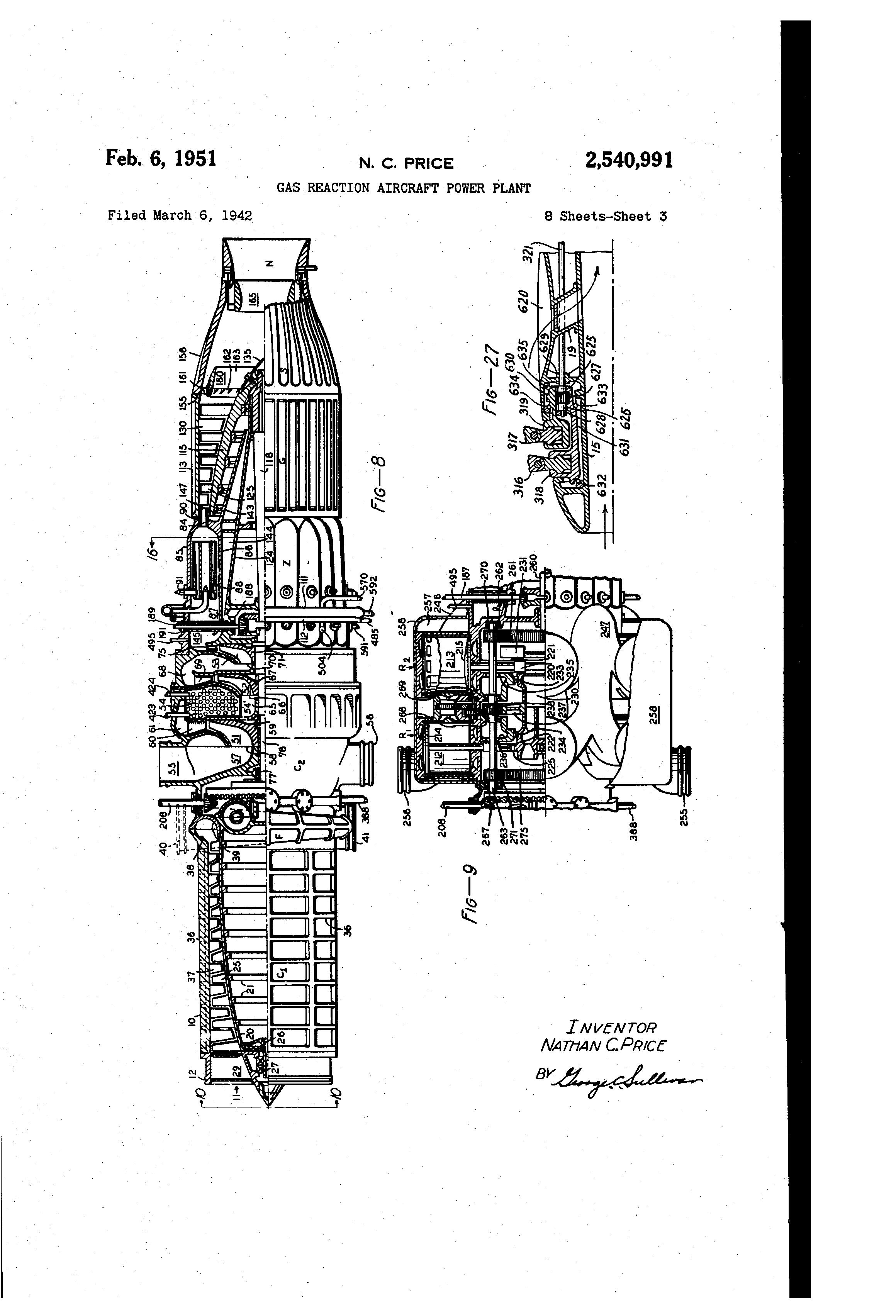 patent us2540991