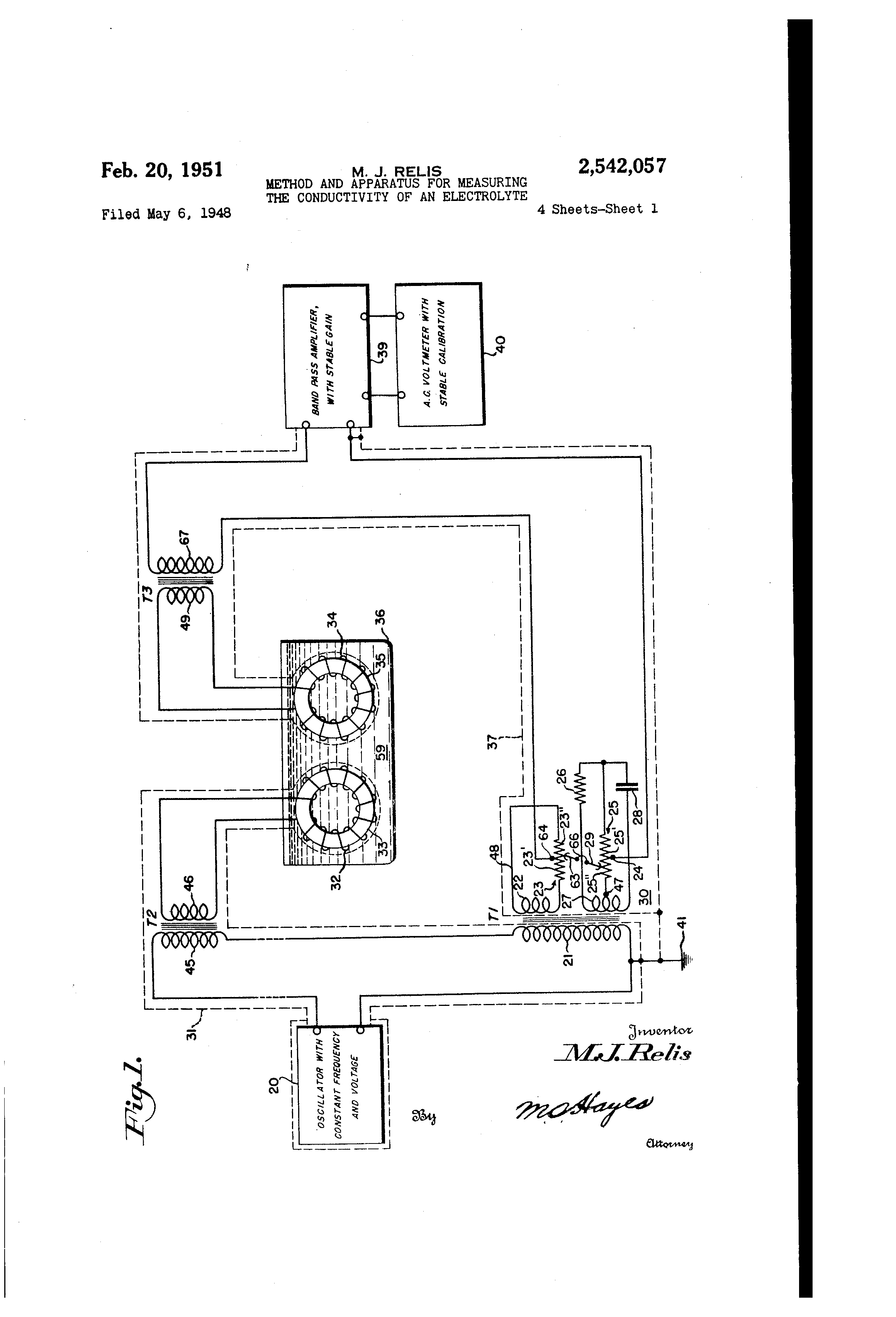 Conductivity Of Electrolyte : Patent us method and apparatus for measuring the