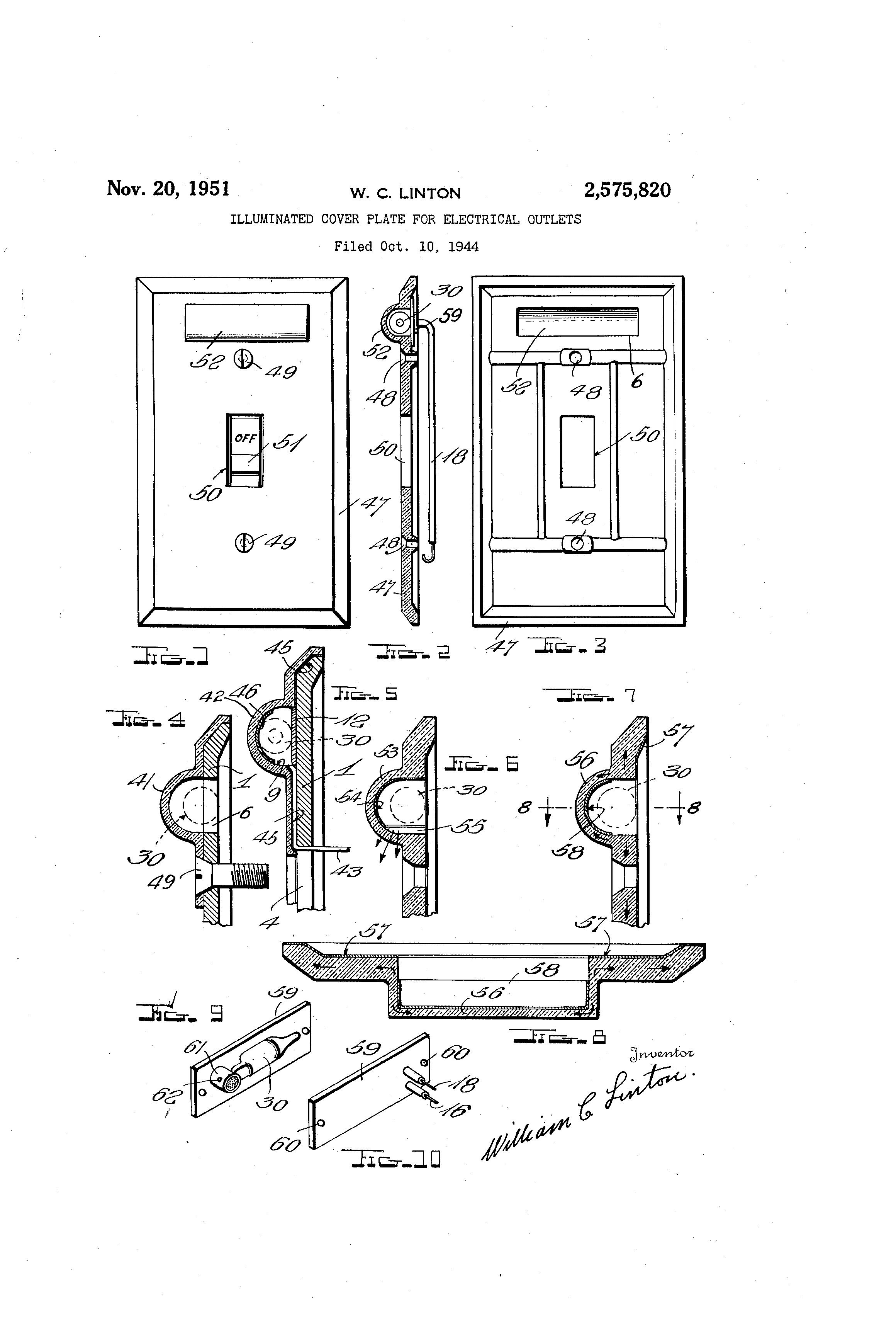 patent us2575820