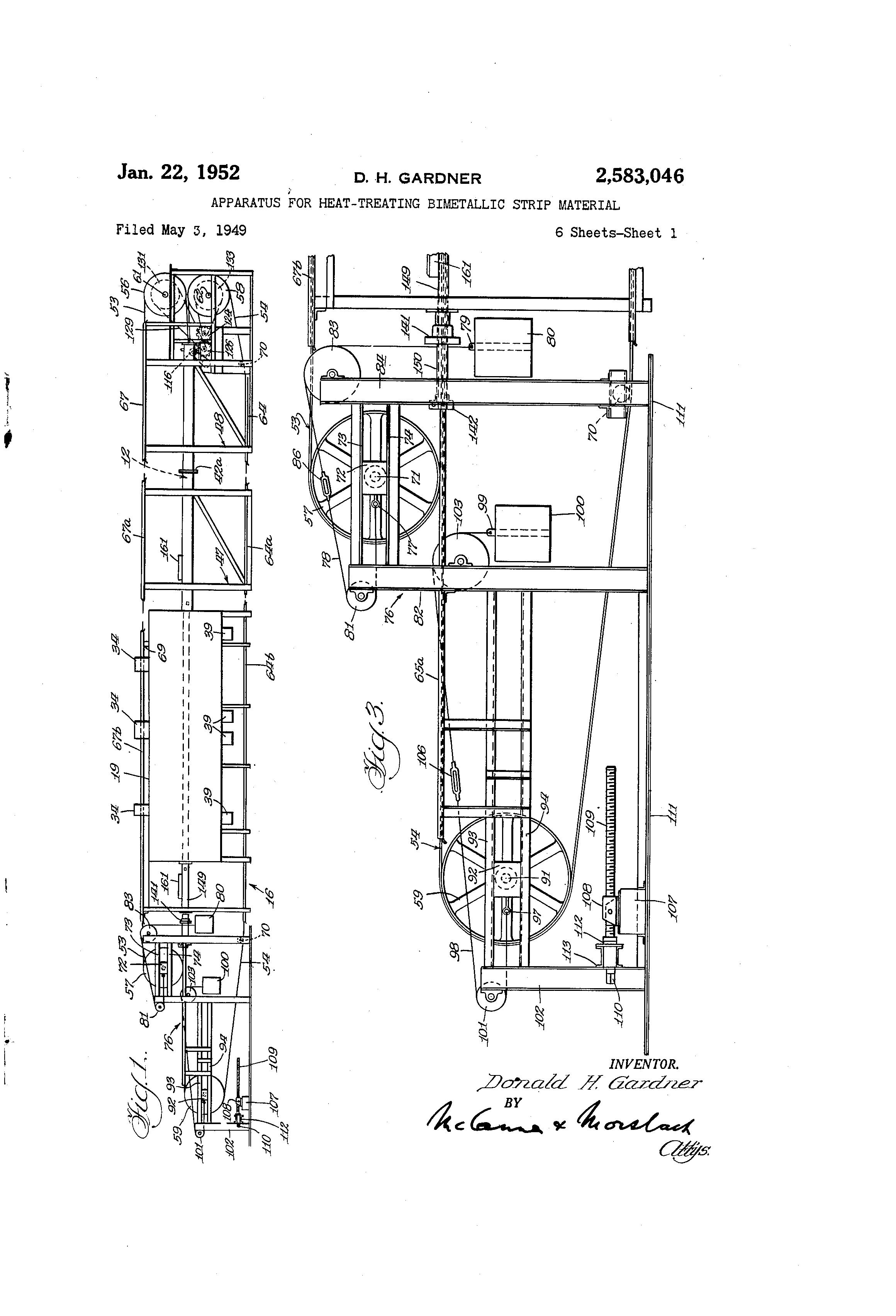 patent us2583046