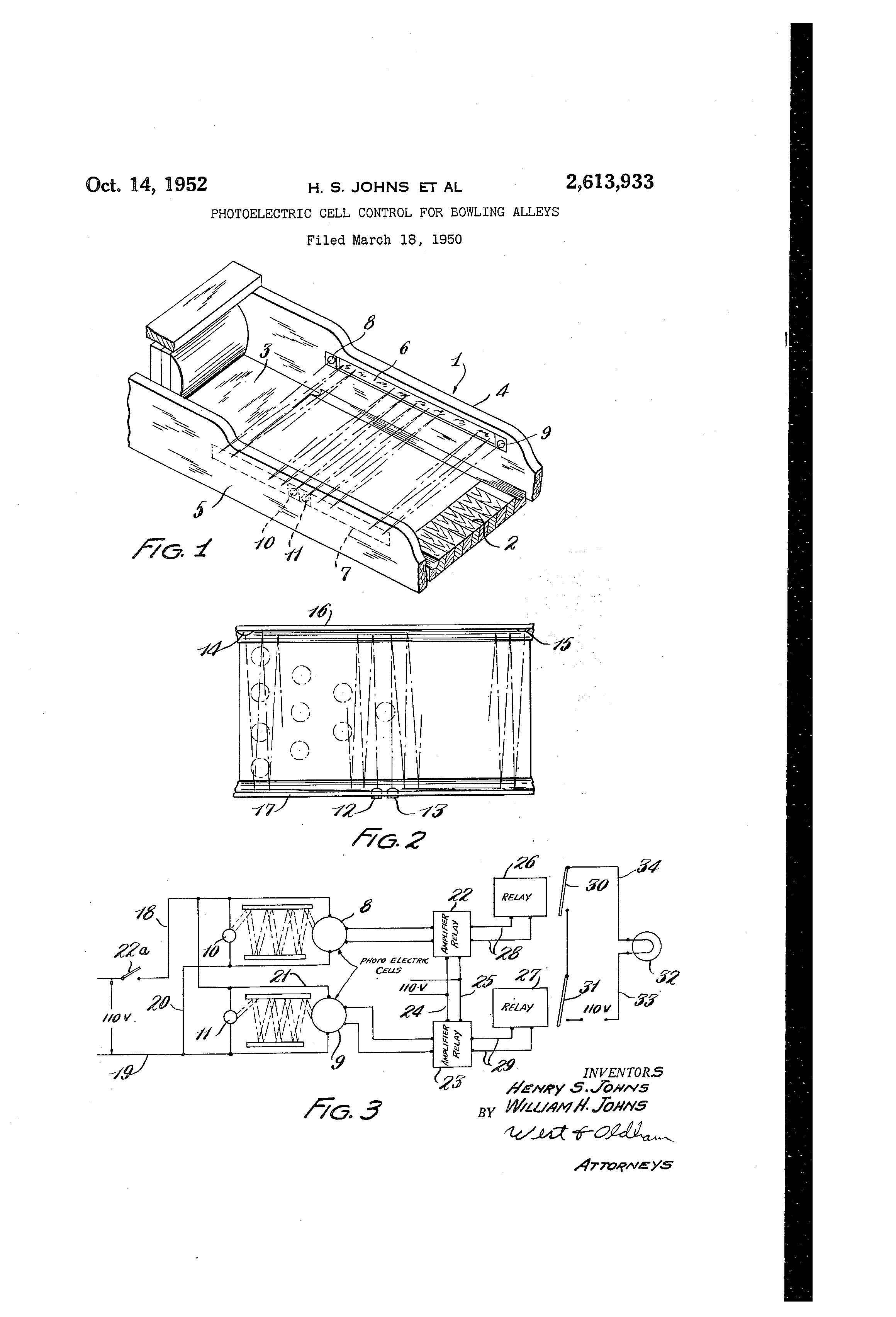 patent us2613933