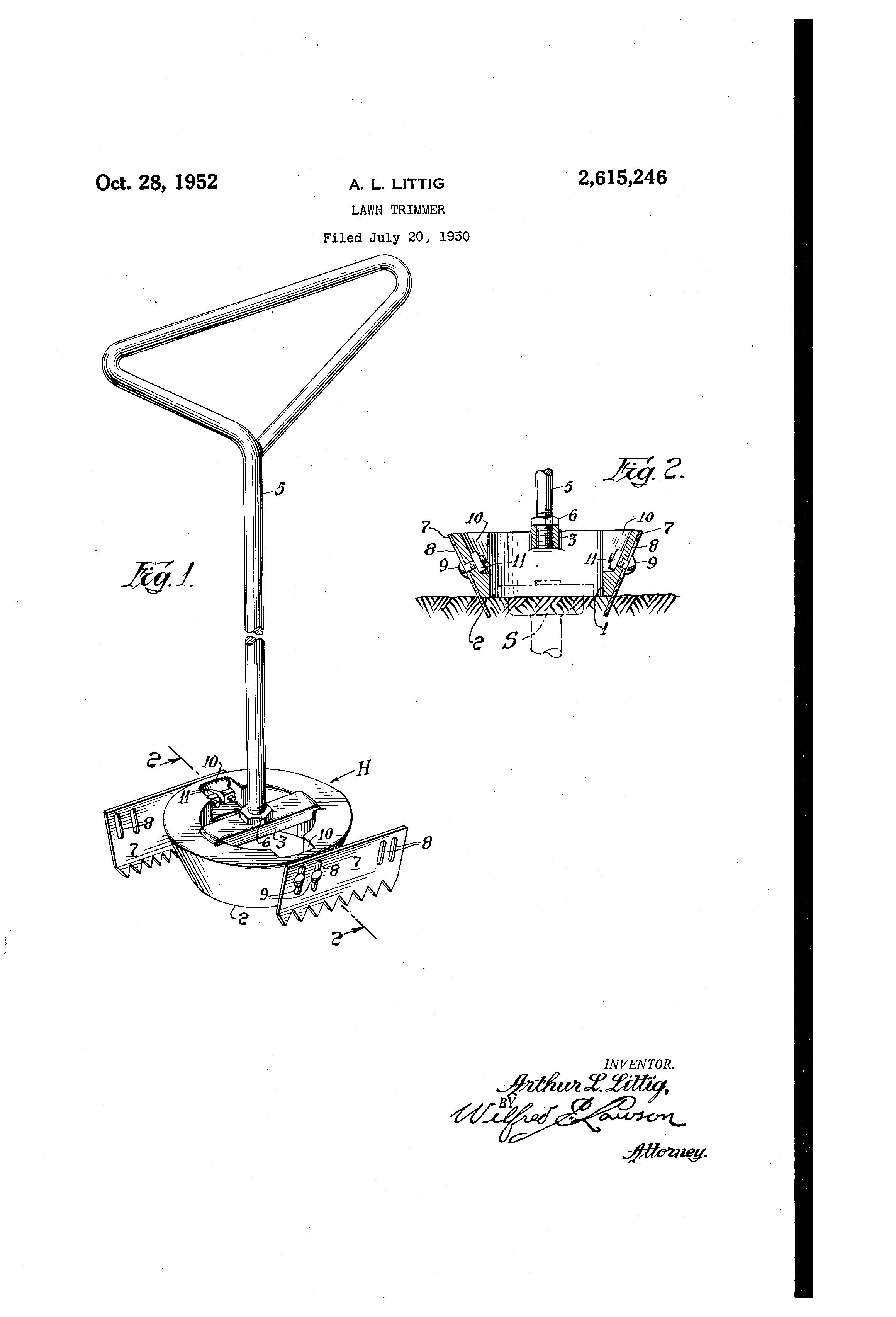 lawn trimmer