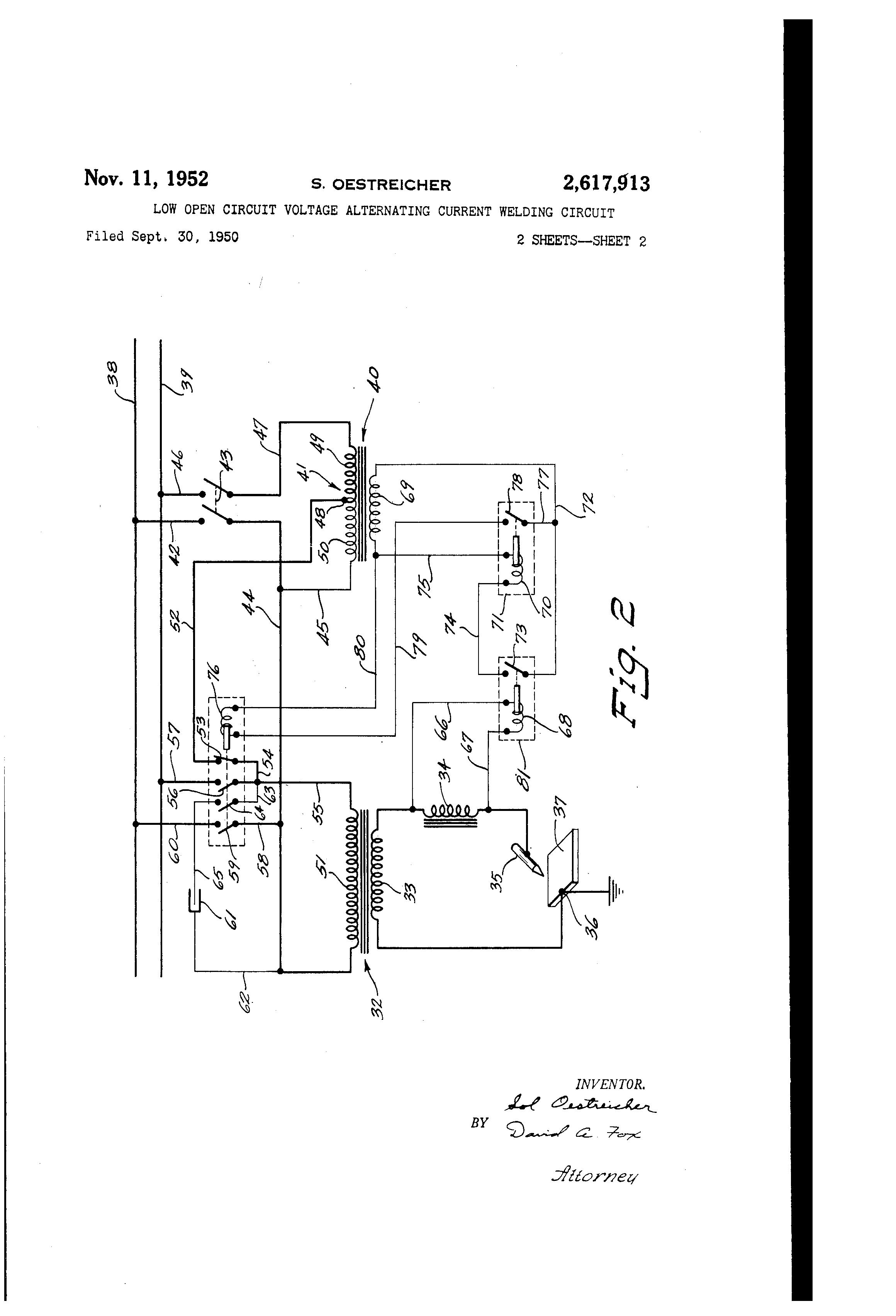 patent us2617913