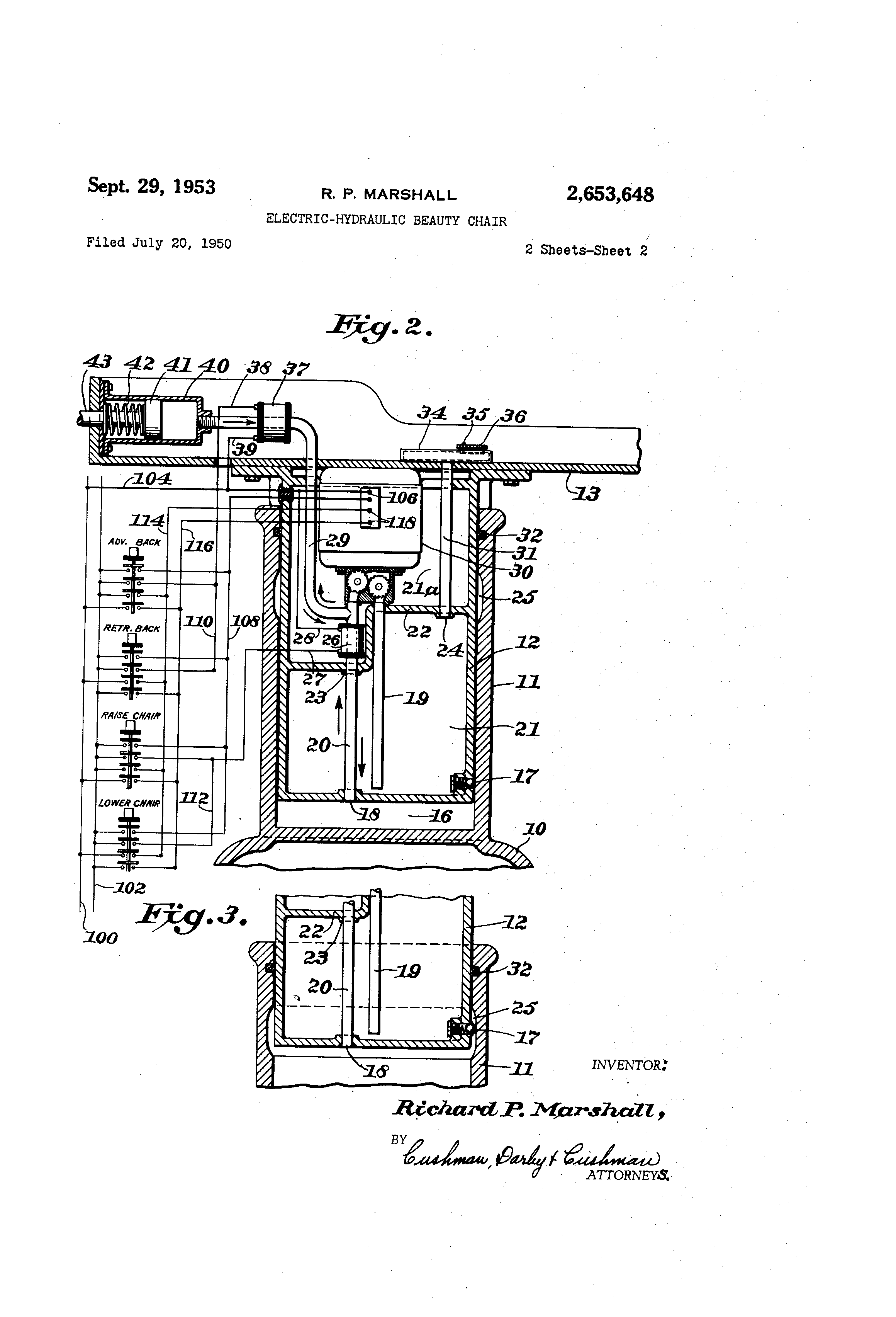 patent us2653648