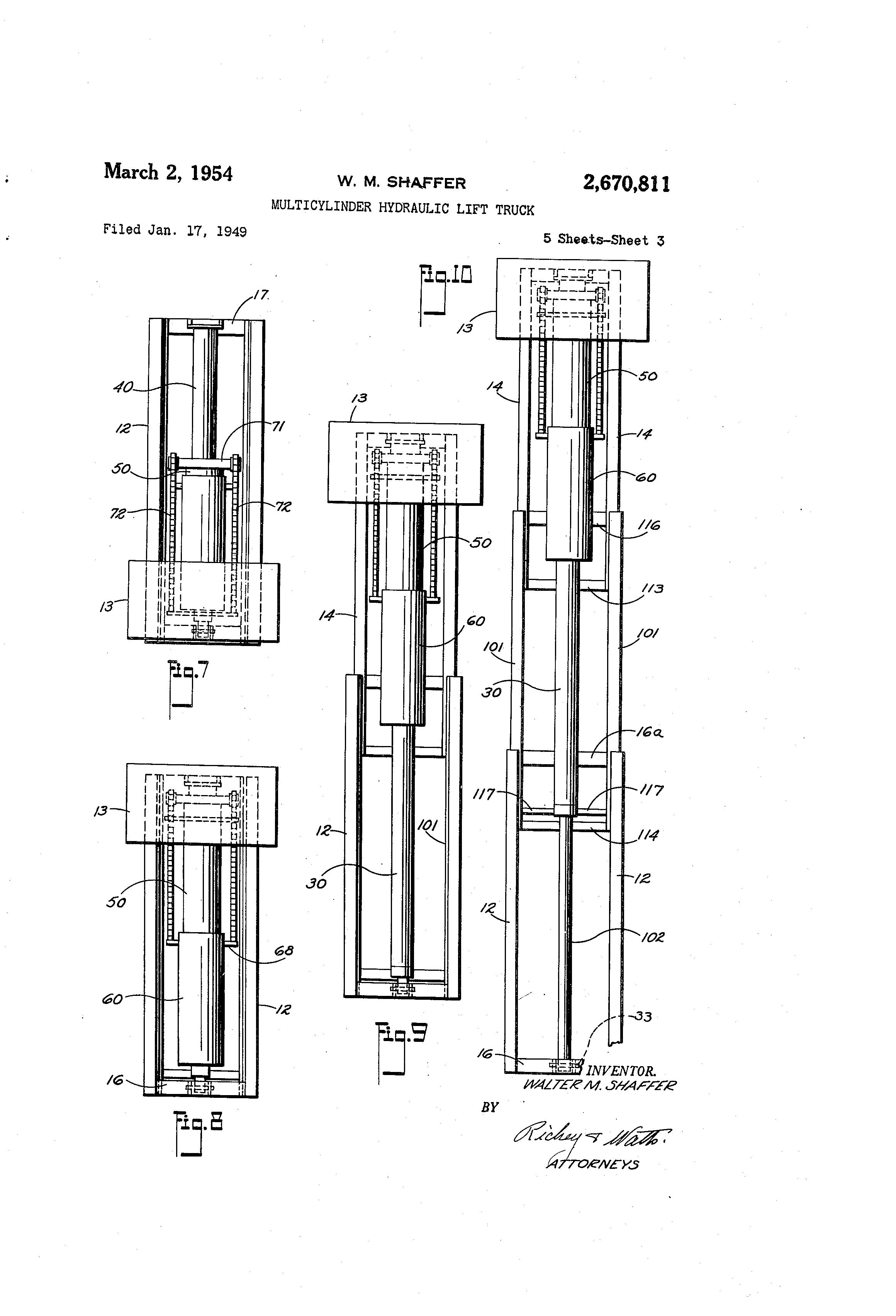 patent us2670811