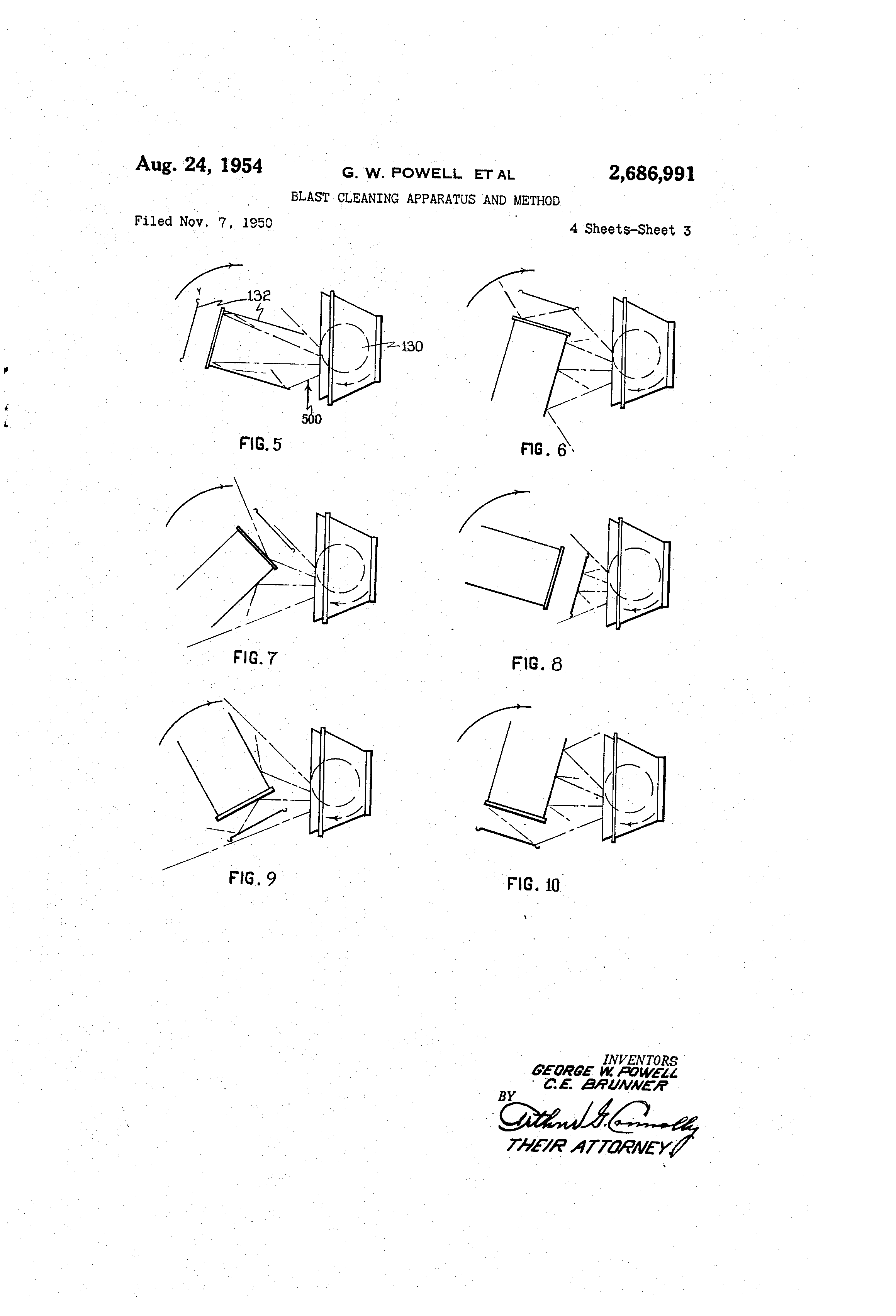 blast cleaning apparatus and method