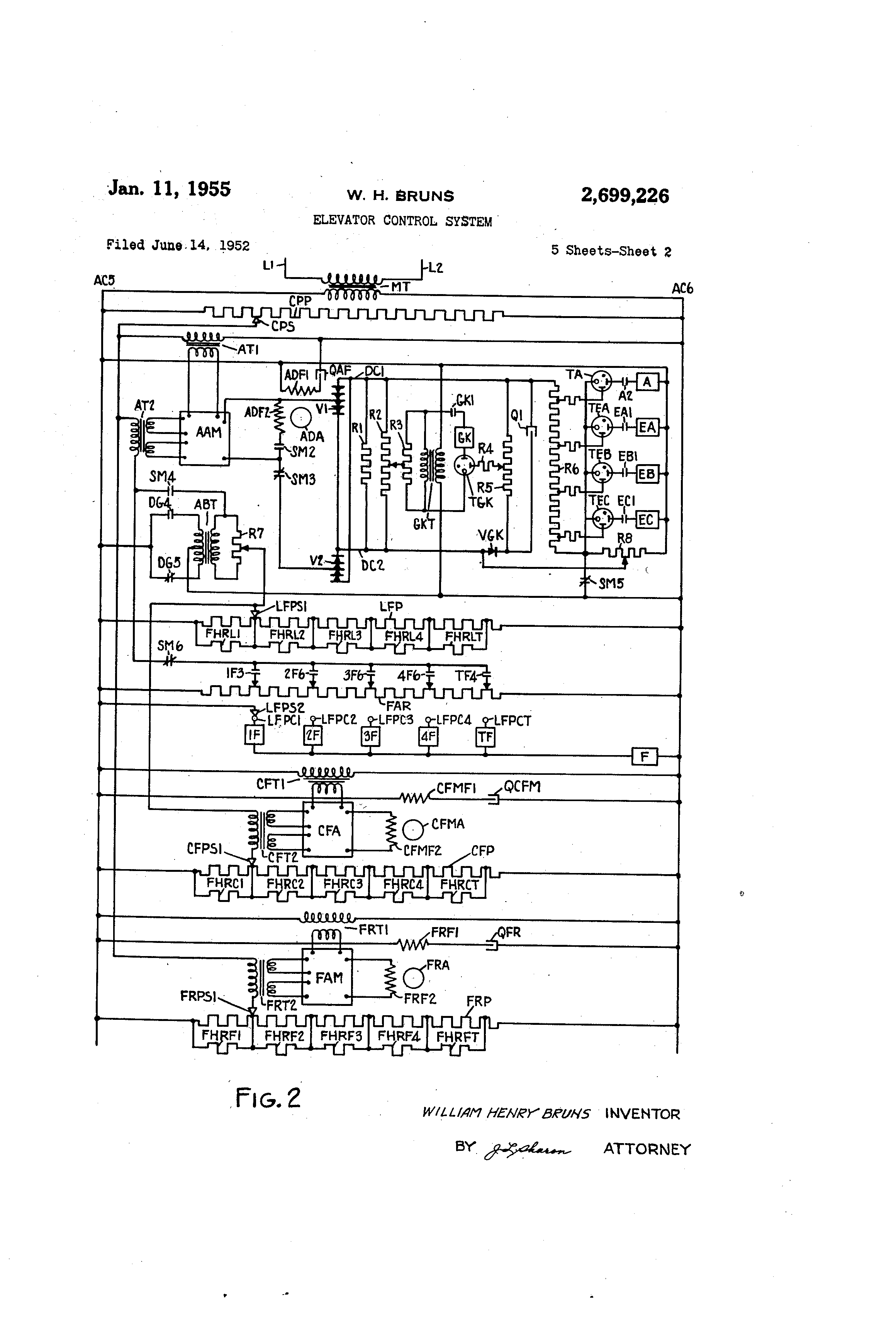 Otis Elevator Wiring Schematic Schematics Diagrams Control Panel Diagram Wireing