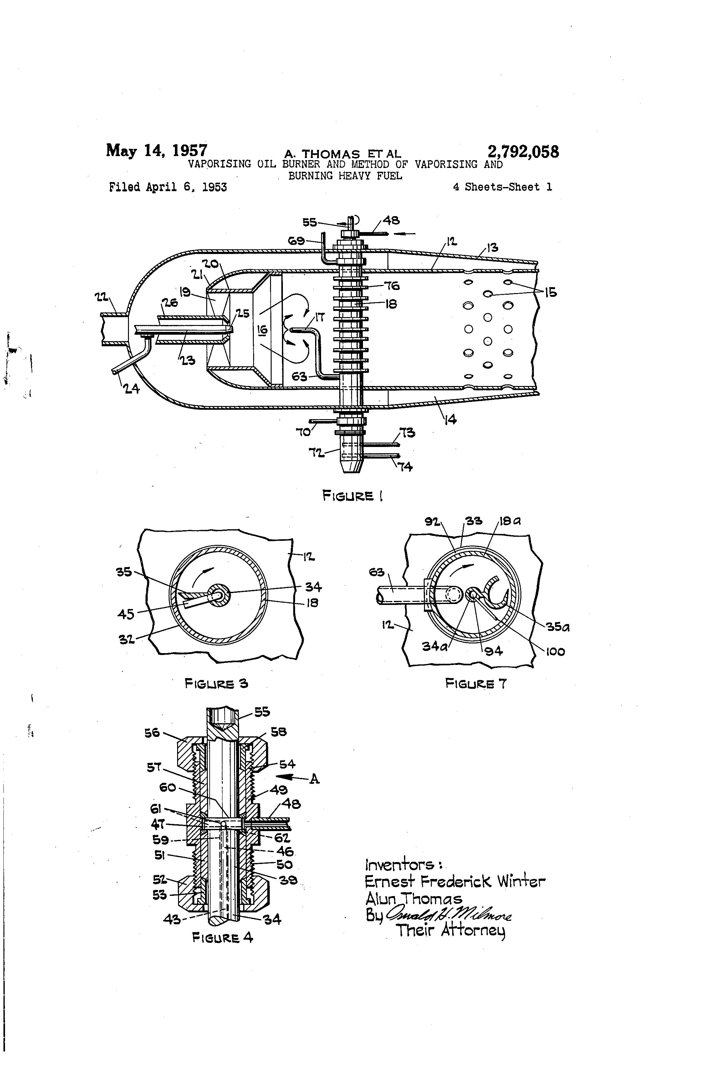 patent us2792058