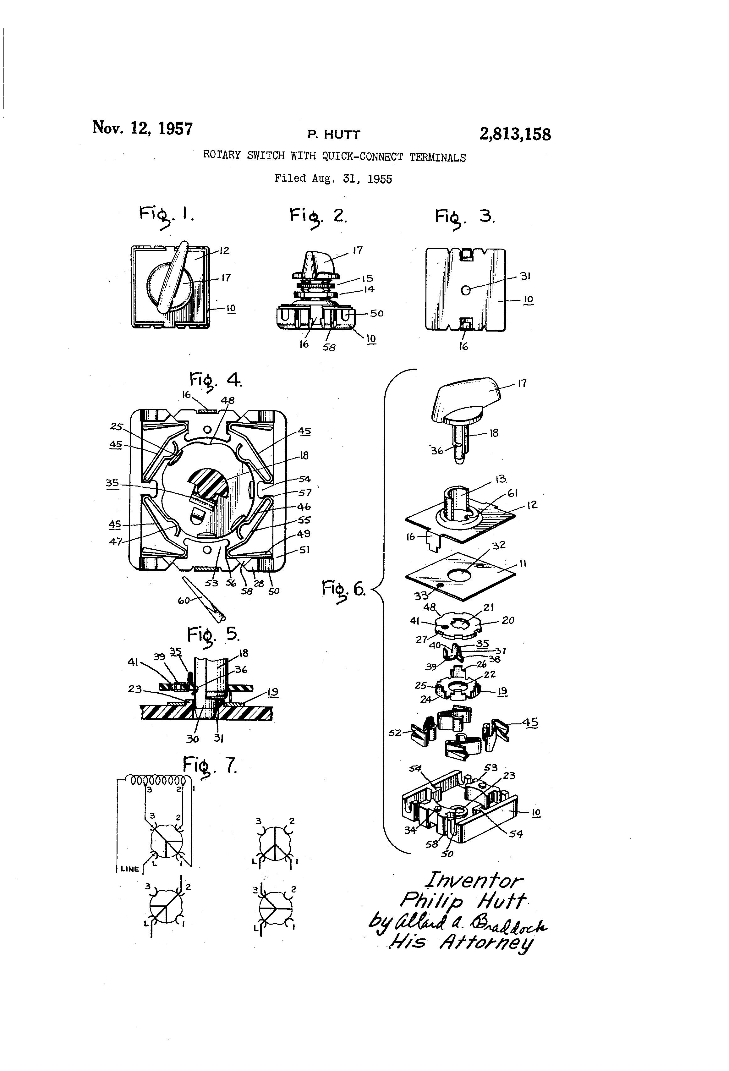 patent us2813158